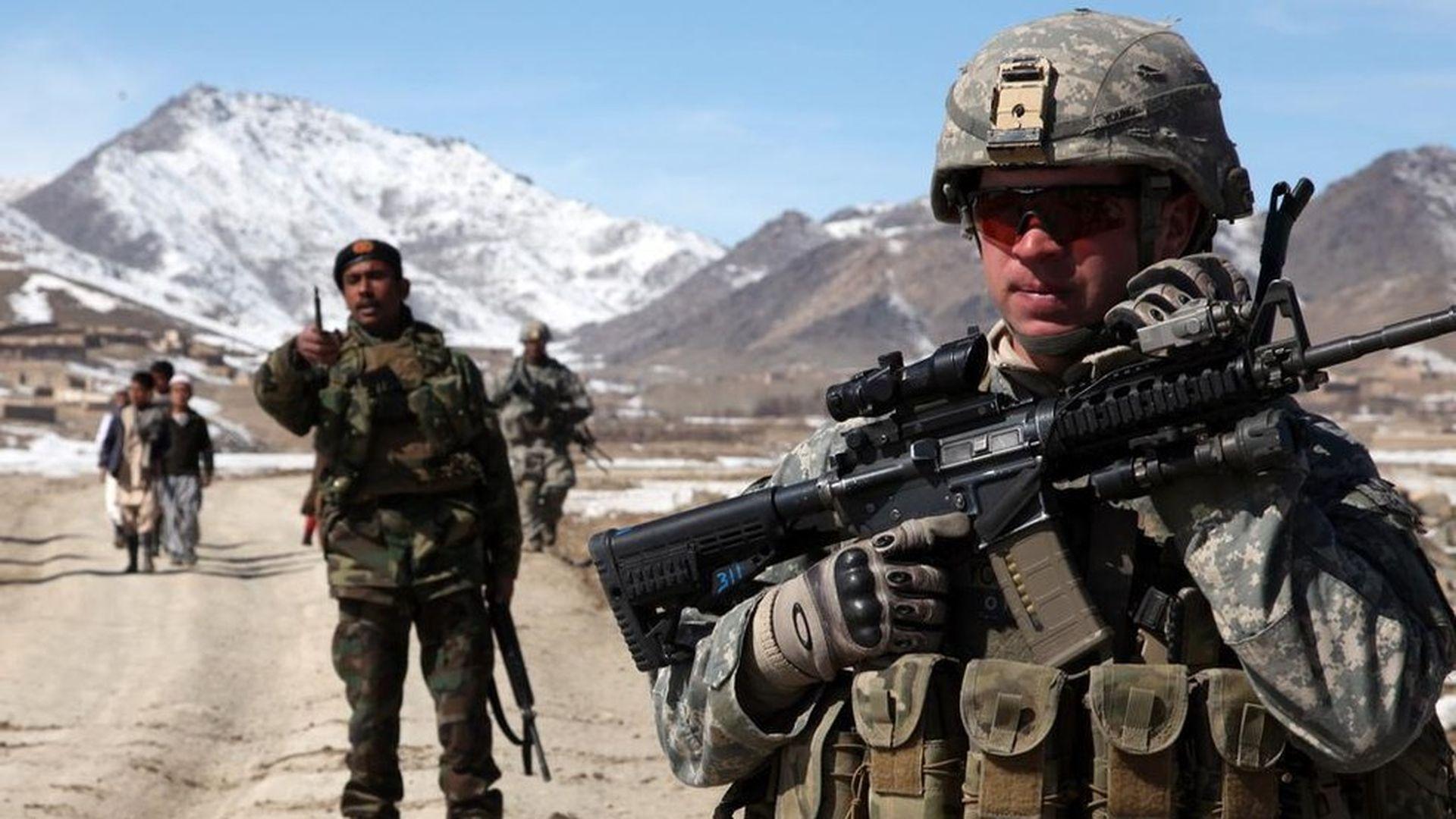 withdrawal of u s troops from afghanistan