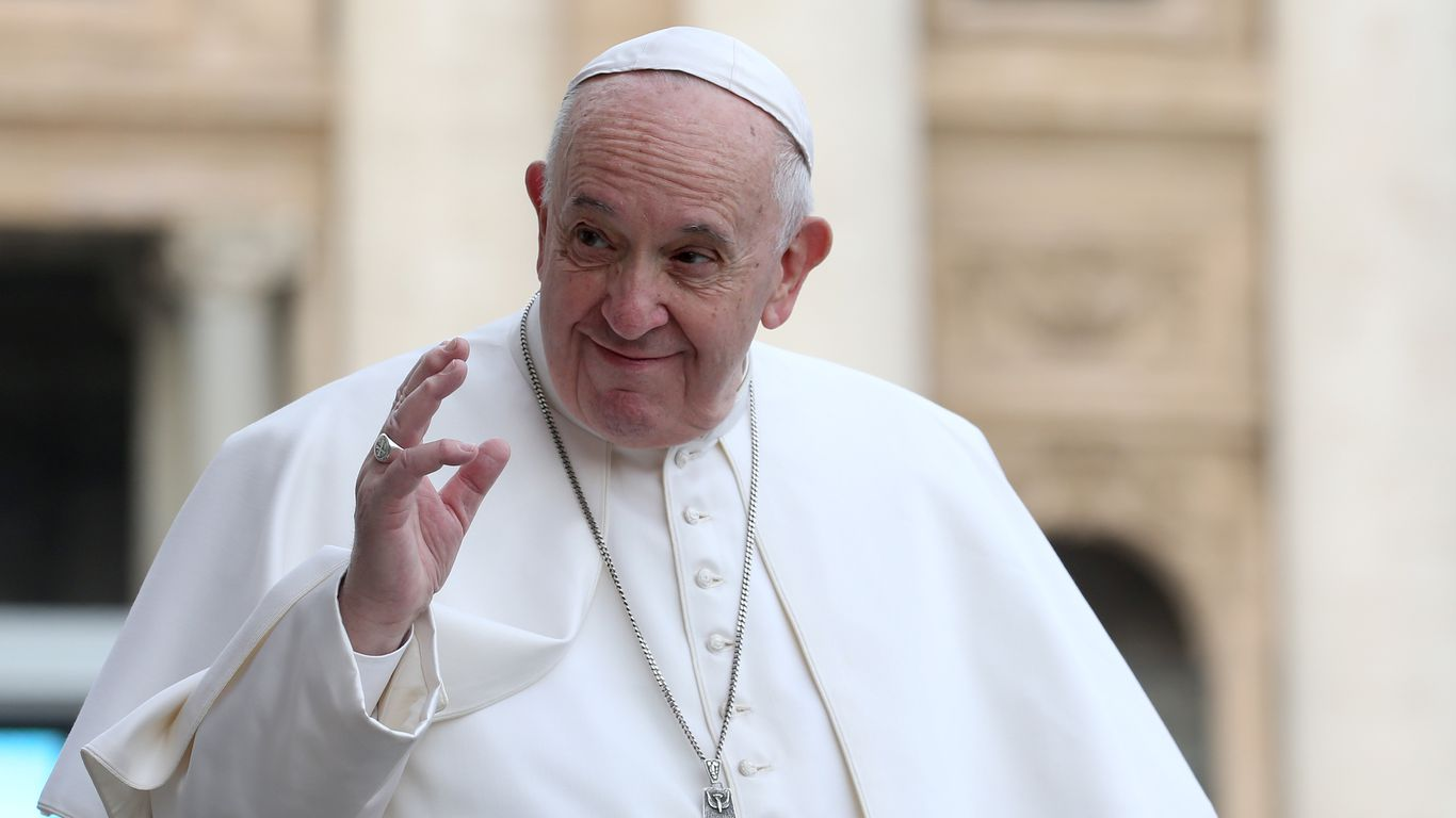 Pope Francis appoints first woman to senior synod role