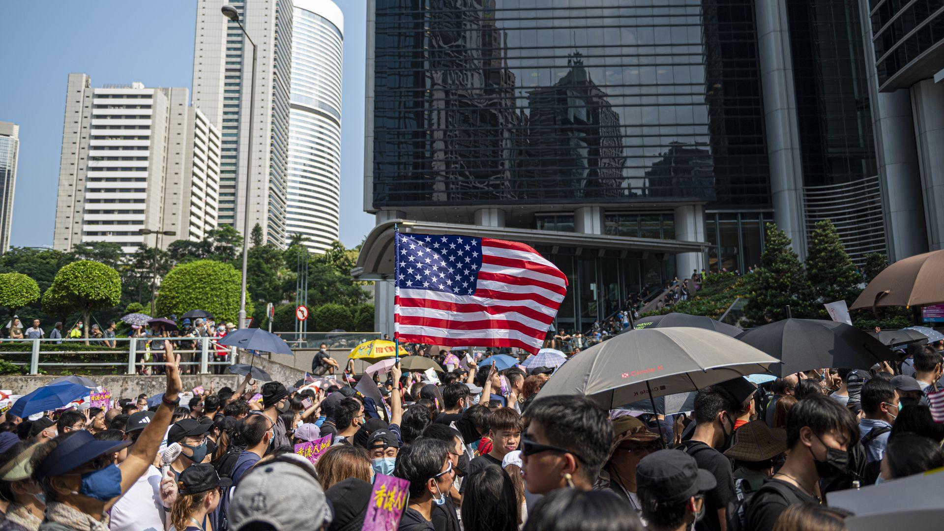 China threatens U.S. it will retaliate if Hong Kong bill becomes law