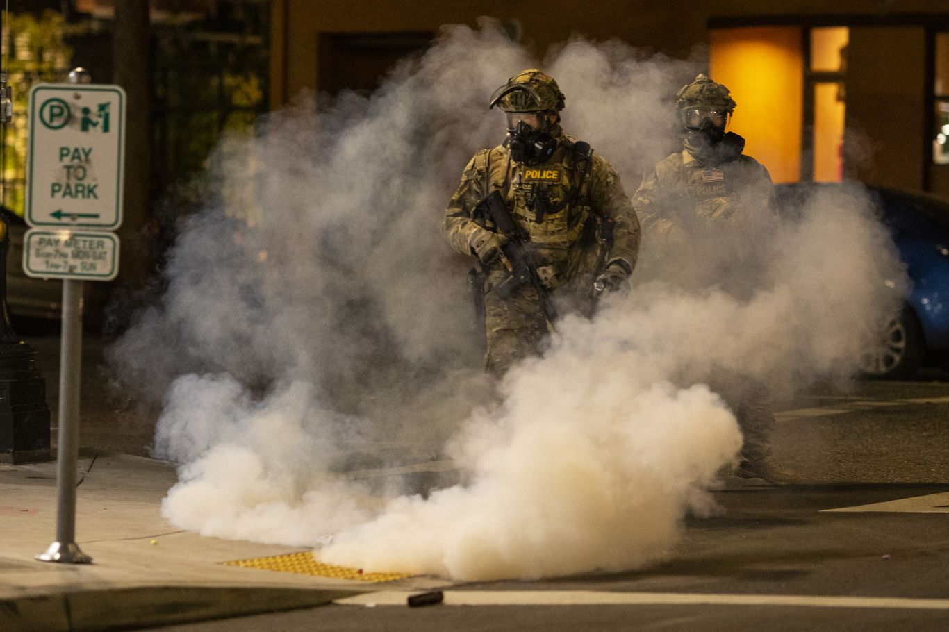 In photos: Federal force prompts backlash from Portland protesters thumbnail