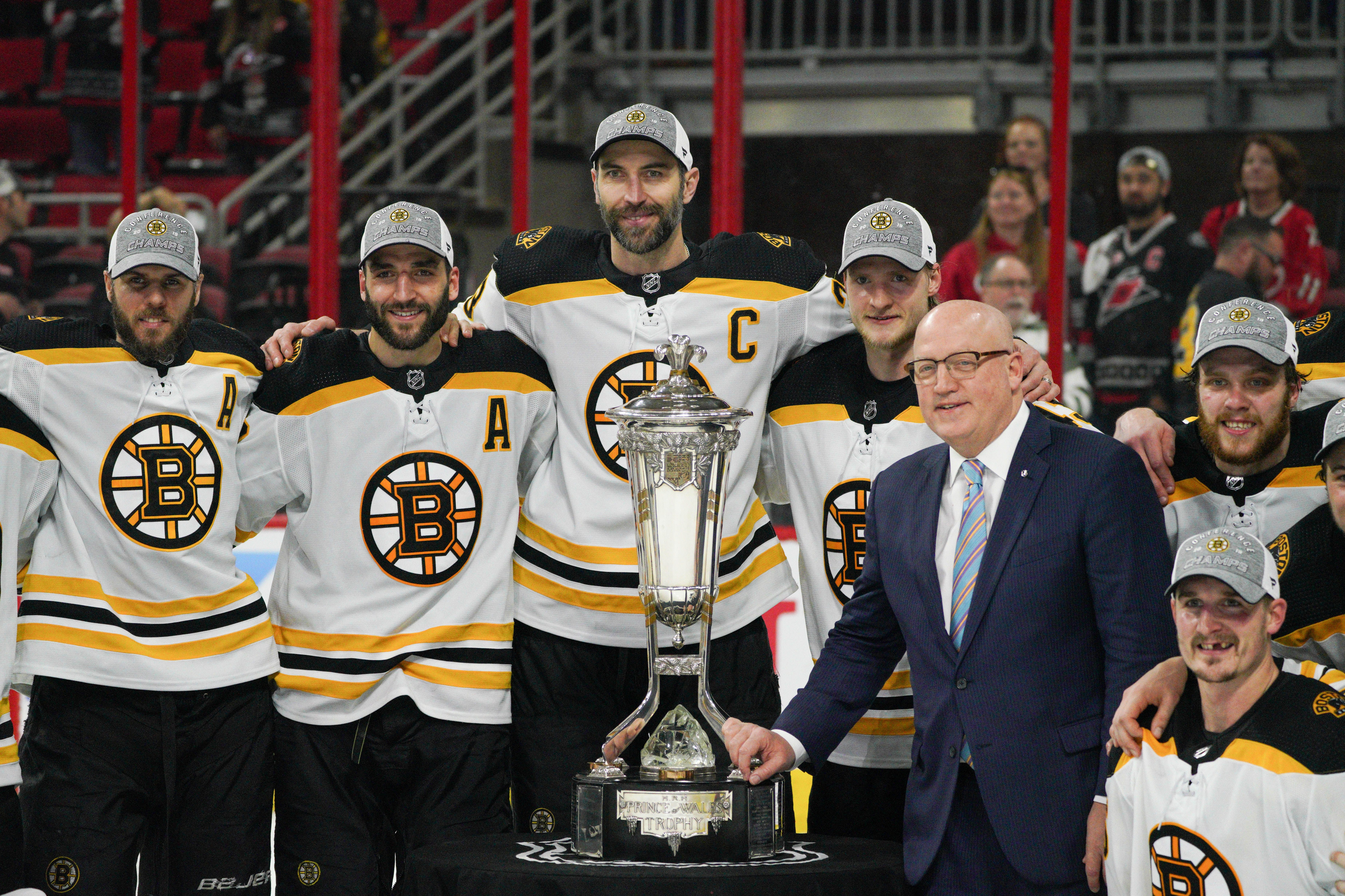 Bruins after winning the Eastern Conference Finals