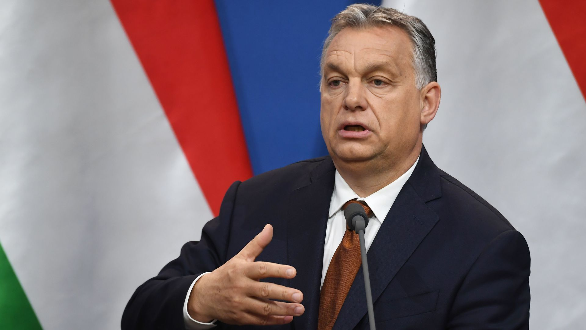 Viktor Orban speaking