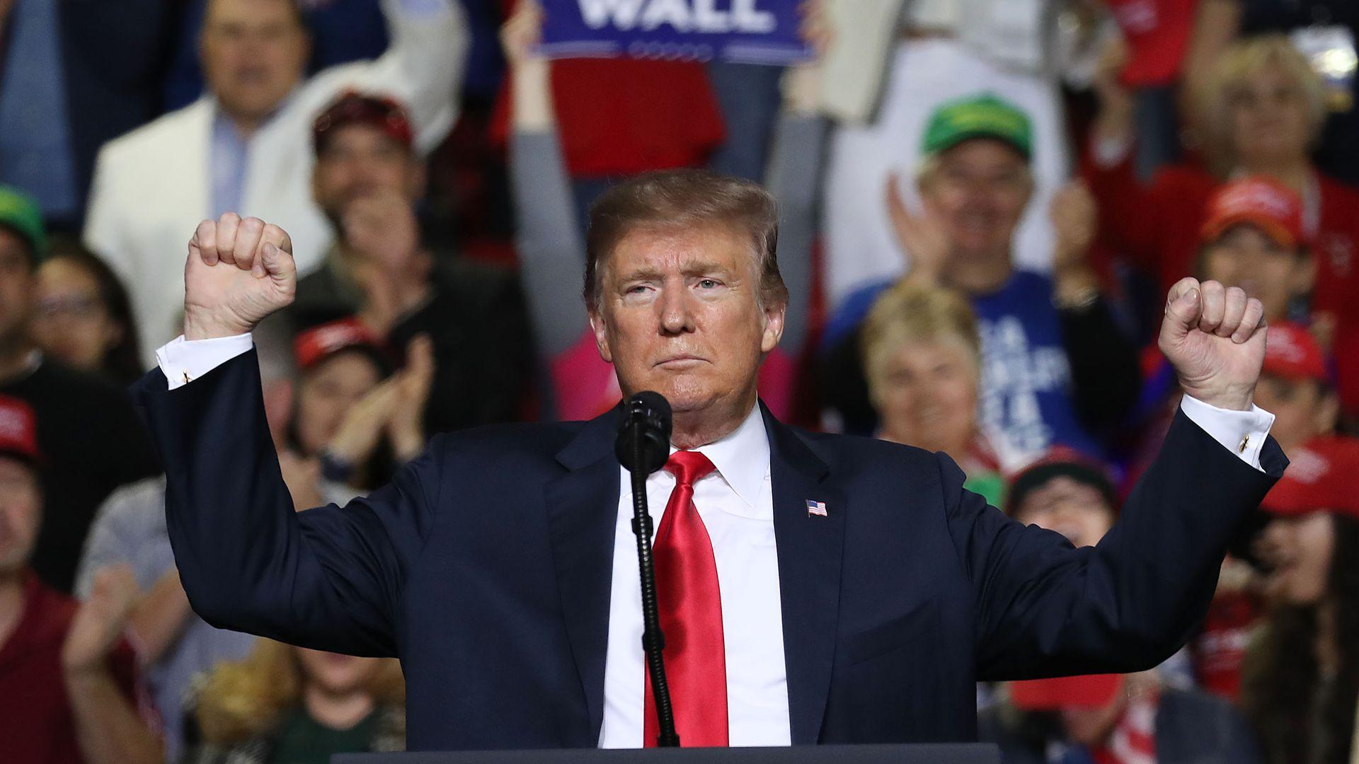 Trump in rally in el paso