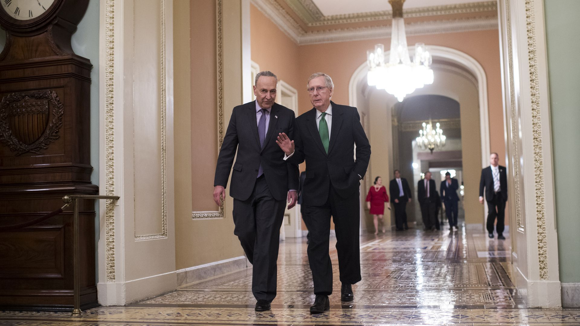 Schumer, McConnell