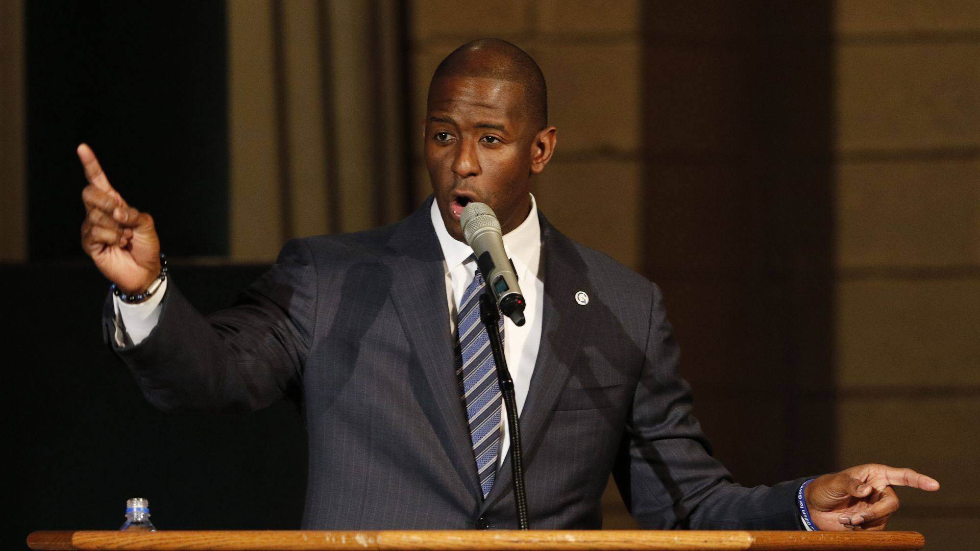 Andrew Gillum speaking