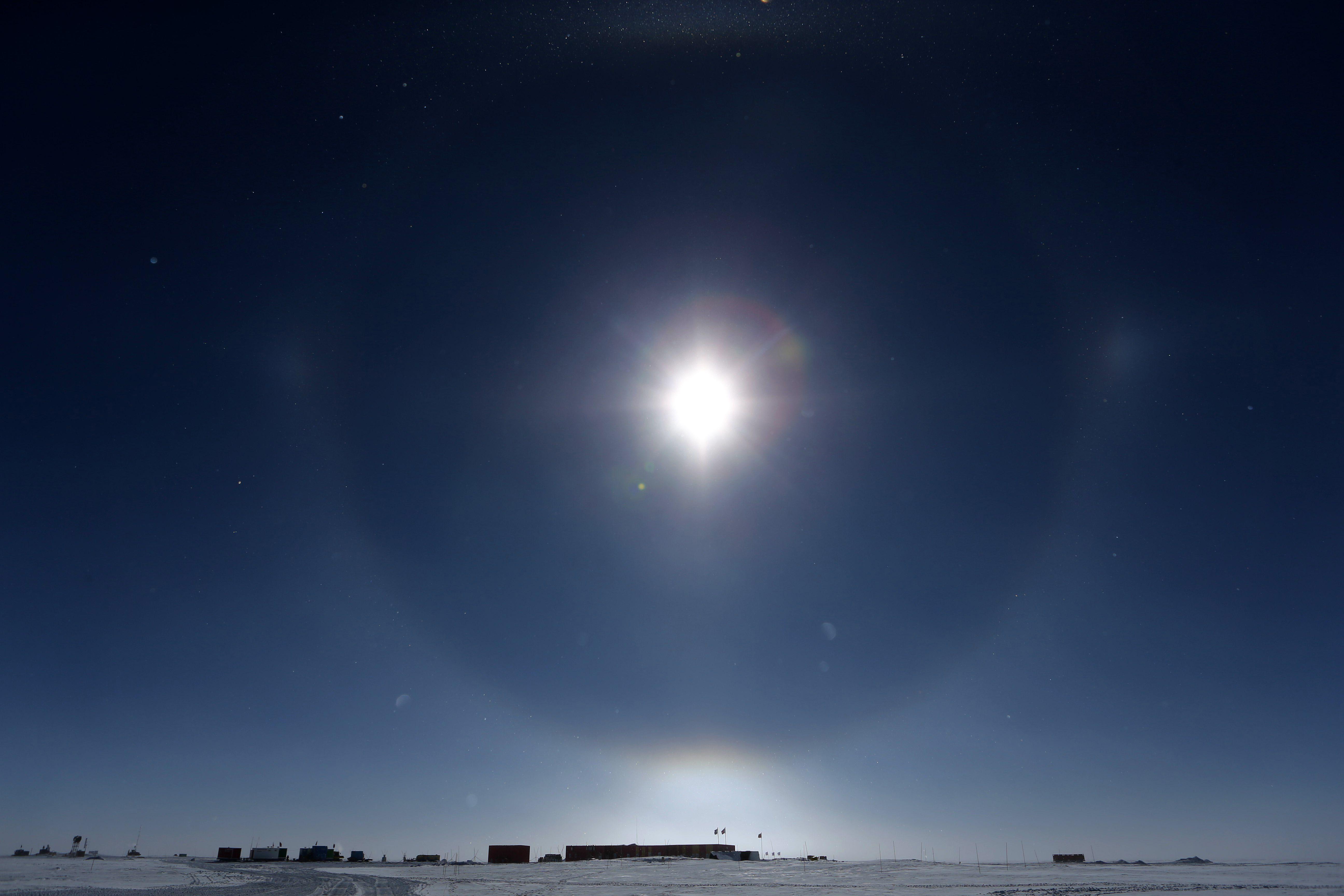 Antarctica hits its warmest temperature in recorded history - Axios