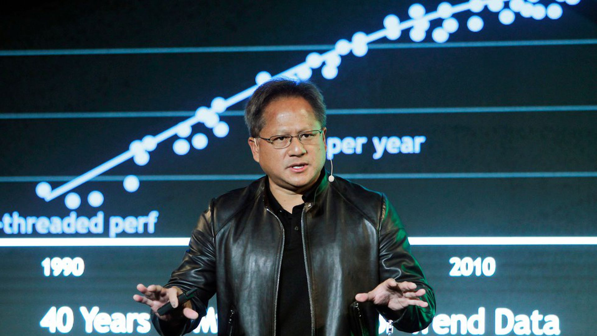 Fortune businessperson of the year: Nvidia's Huang - Axios