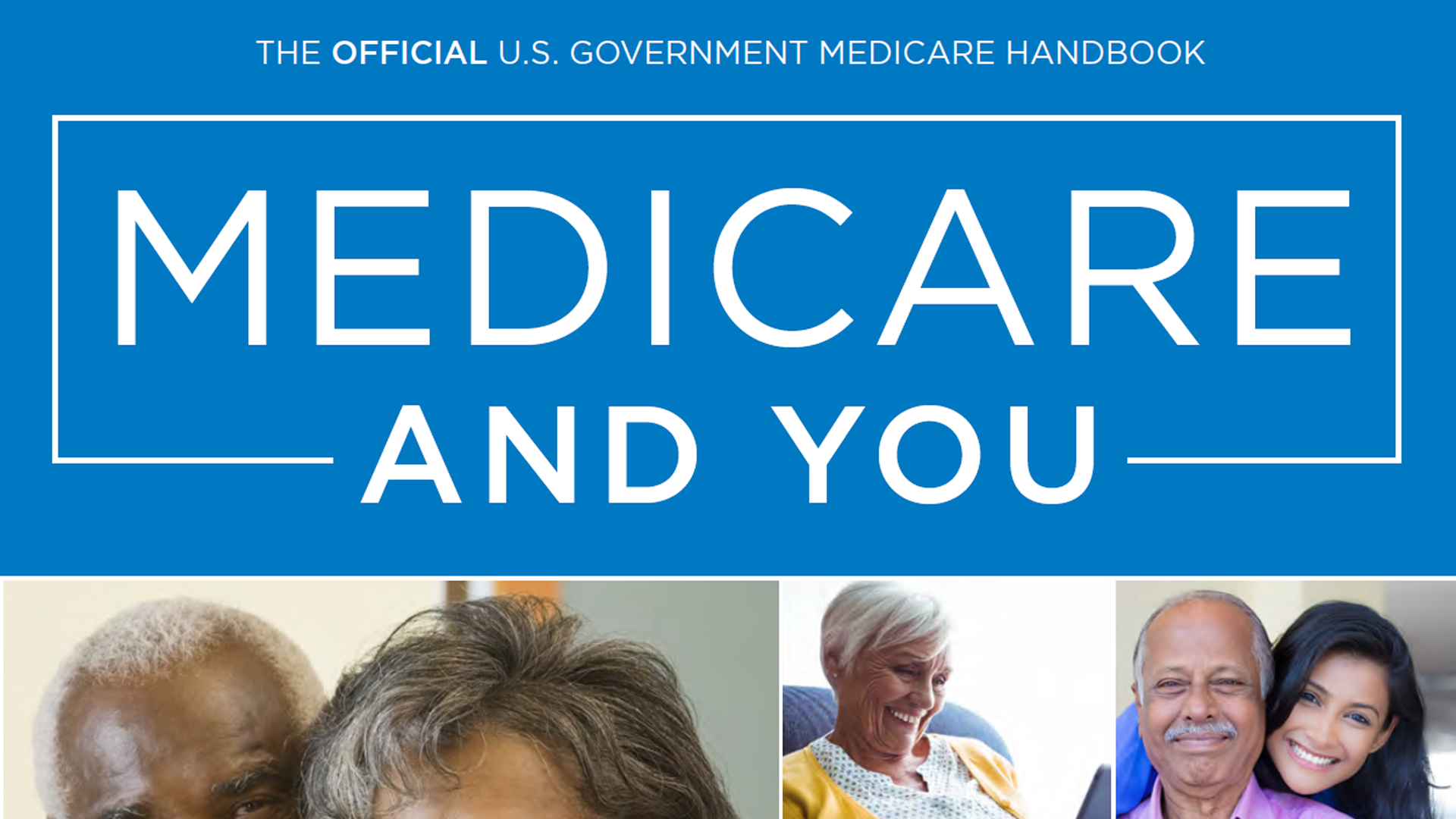 A screenshot of the 2019 Medicare & You handbook.
