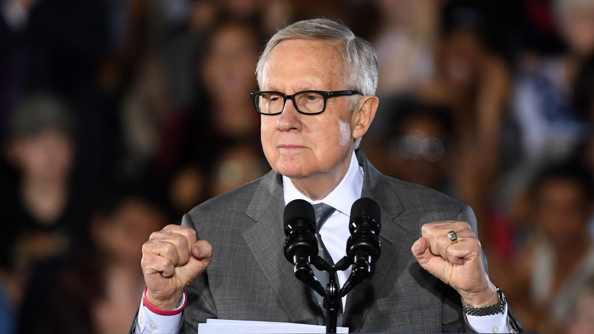 Former U.S. Senate Minority Leader Harry Reid (D-NV)