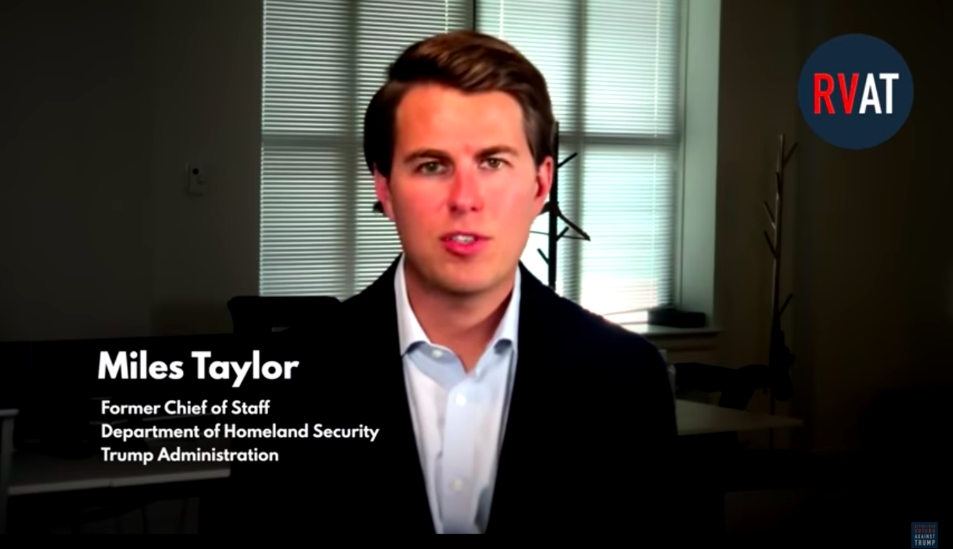 """""""Anonymous"""" senior Trump official revealed as ex-DHS chief of staff Miles Taylor thumbnail"""