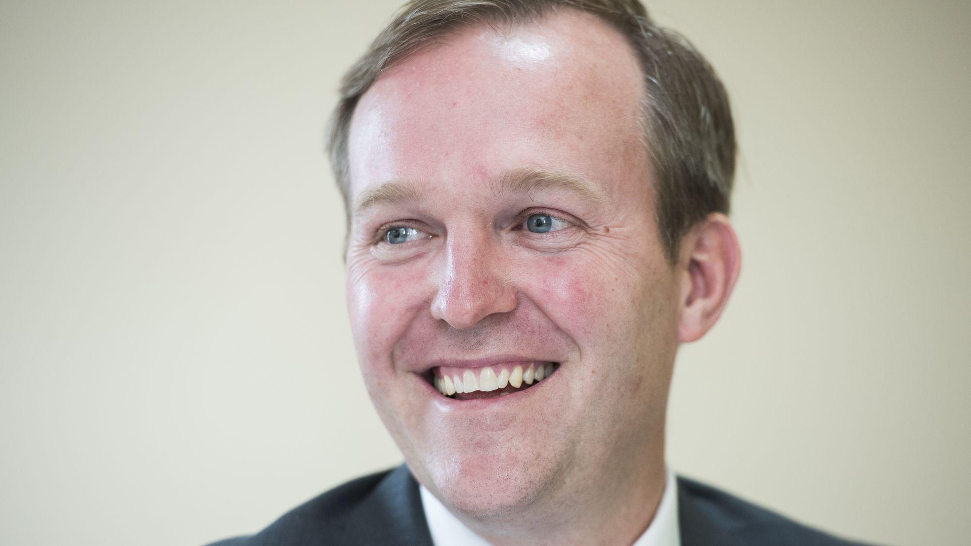 Ben McAdams smiling