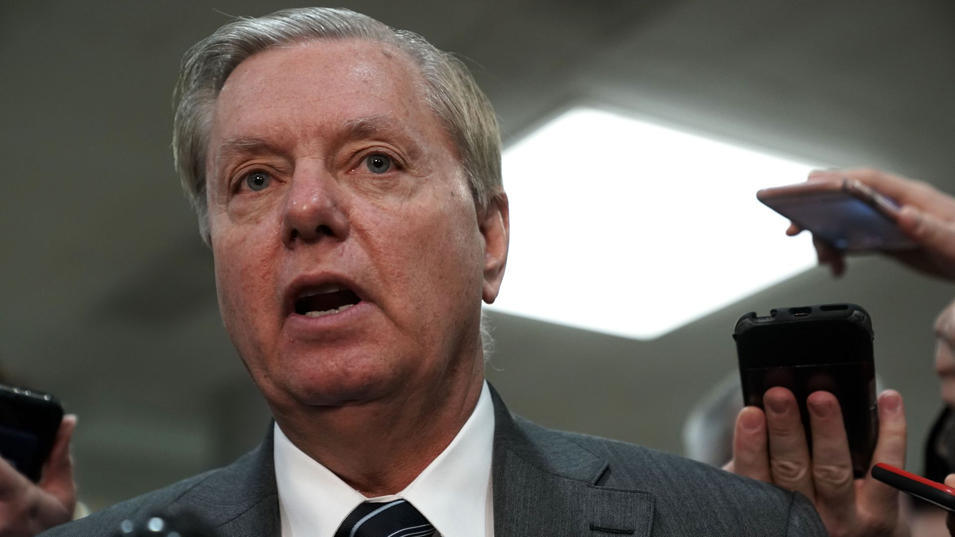 Lindsey Graham has hinted at further questioning of former FBI director James Comey.