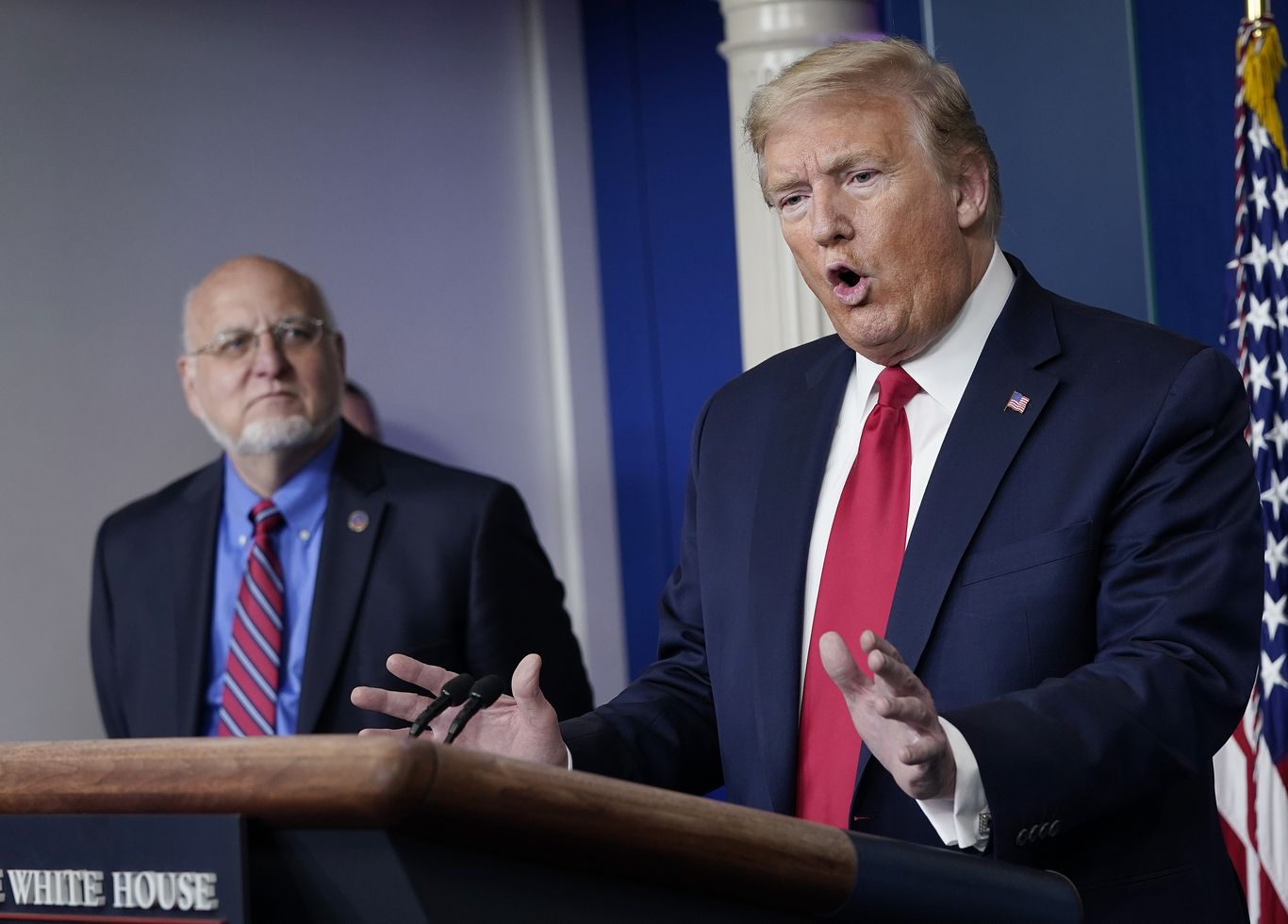 4 former CDC heads say Trump's undermining of agency guidelines is putting lives at risk thumbnail