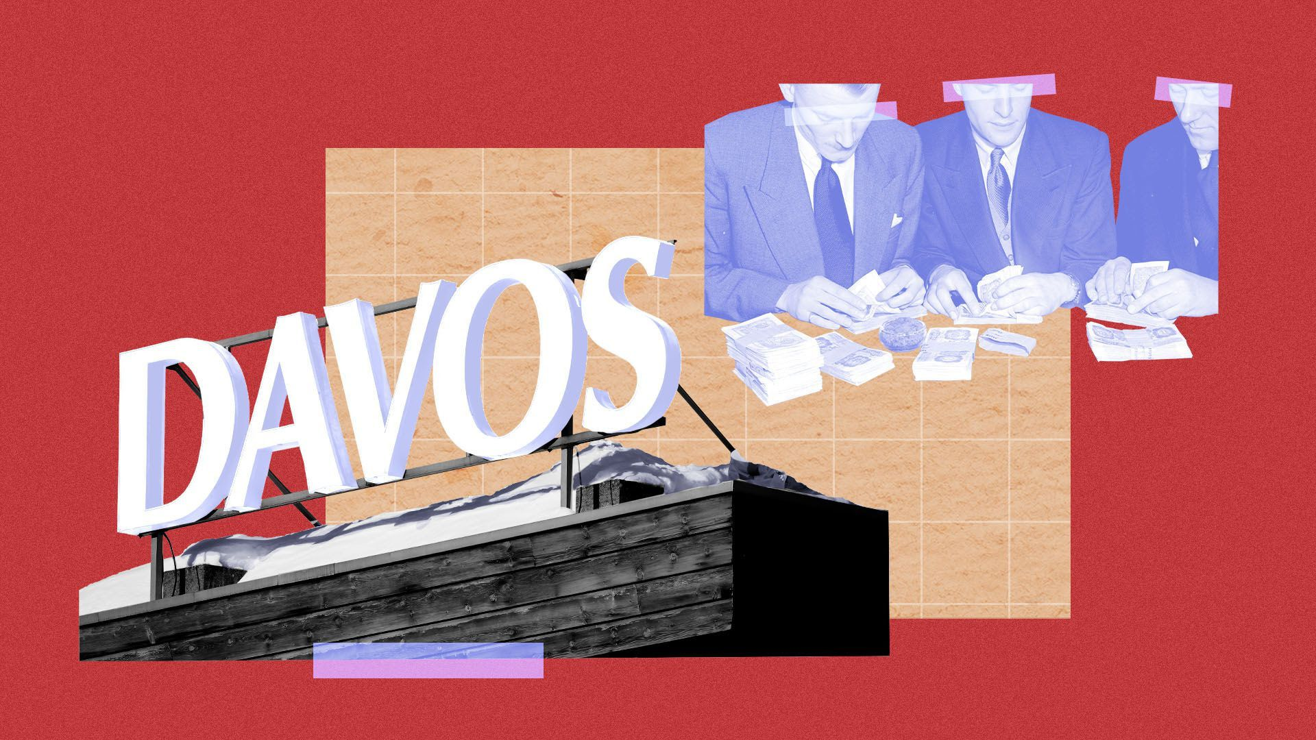 Media coverage of Davos portrays more conference rhetoric than reality