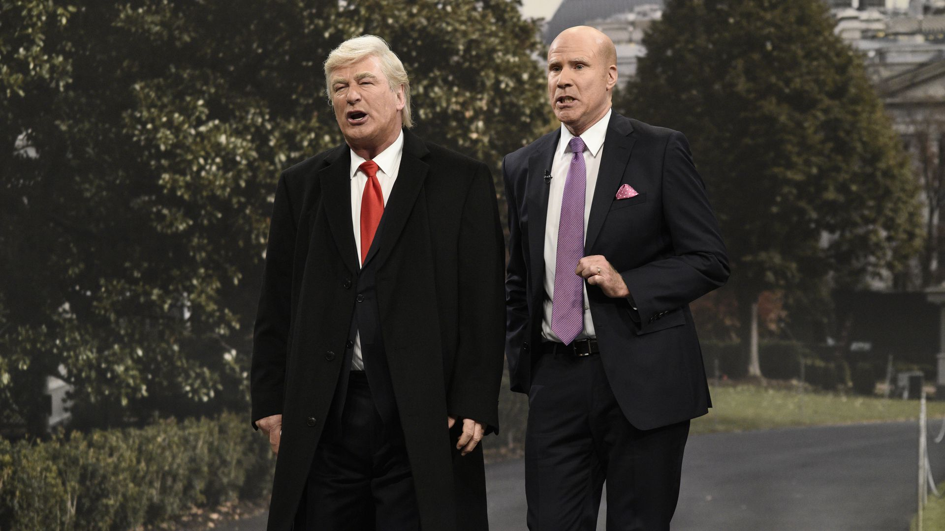 Alec Baldwin and Will Ferrell on SNL