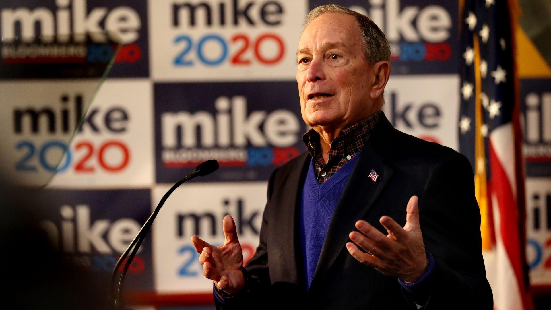 "Bloomberg on anti-Semitism: ""Presidential leadership matters"""