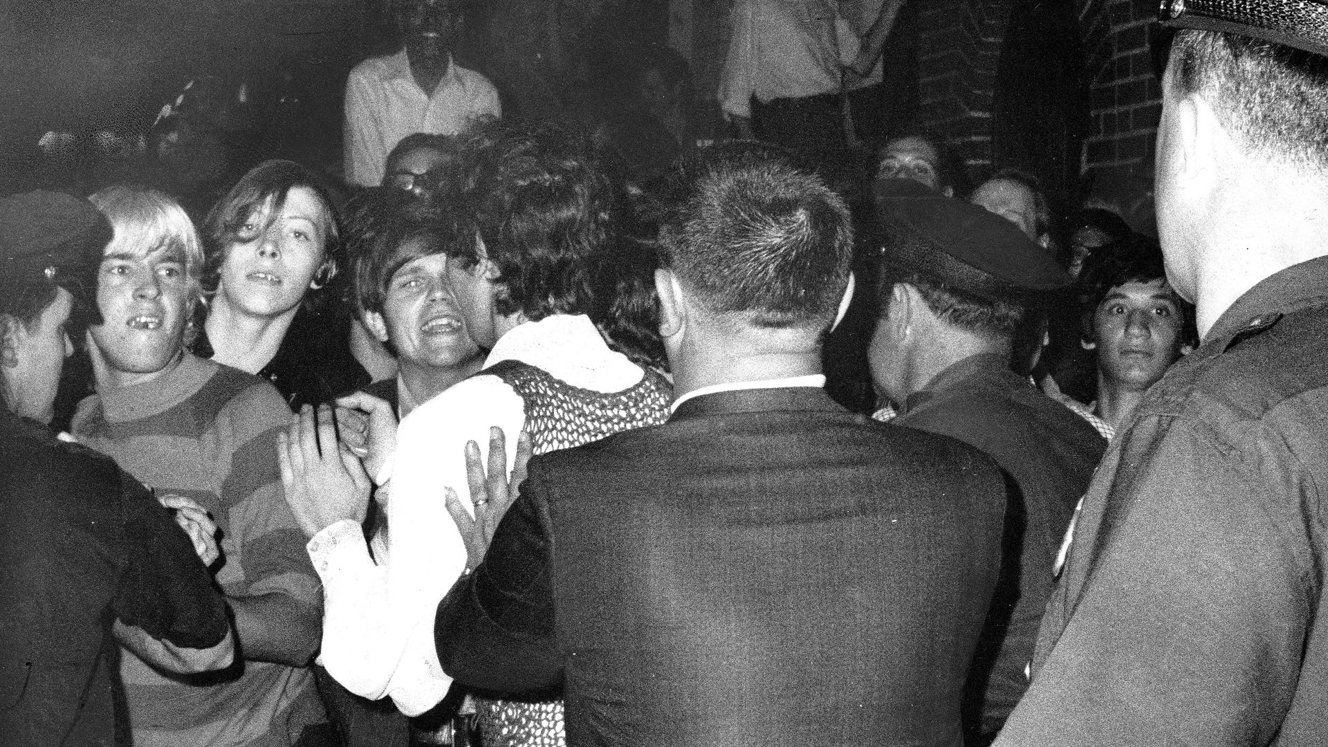 1969 Stonewall Riots in New York City
