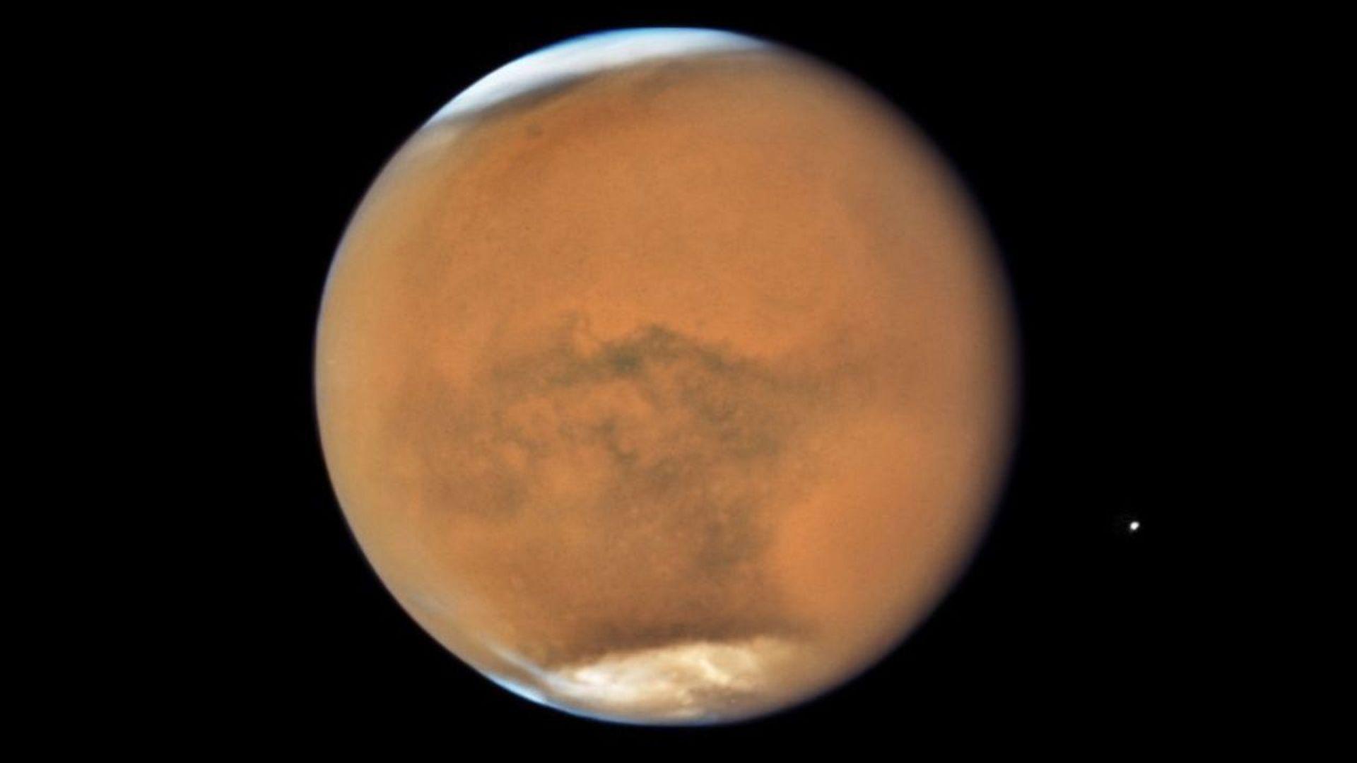 Mars seen in 2018. Photo: NASA/ESA/STScI