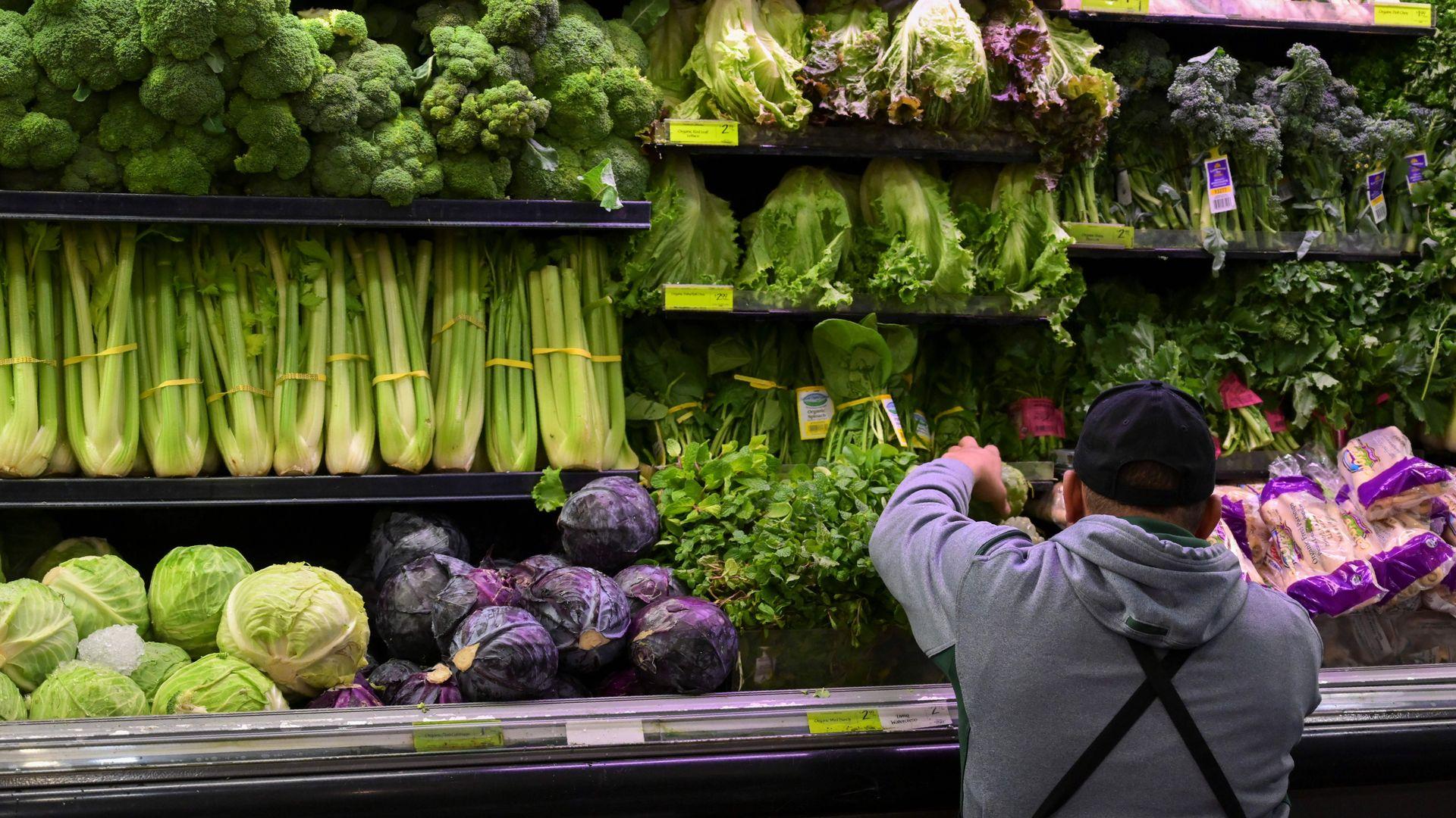 Amazon Whole Foods produce section