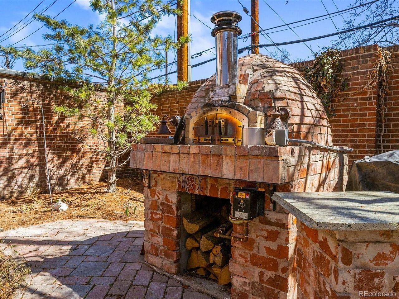 1350 N. Logan St pizza oven