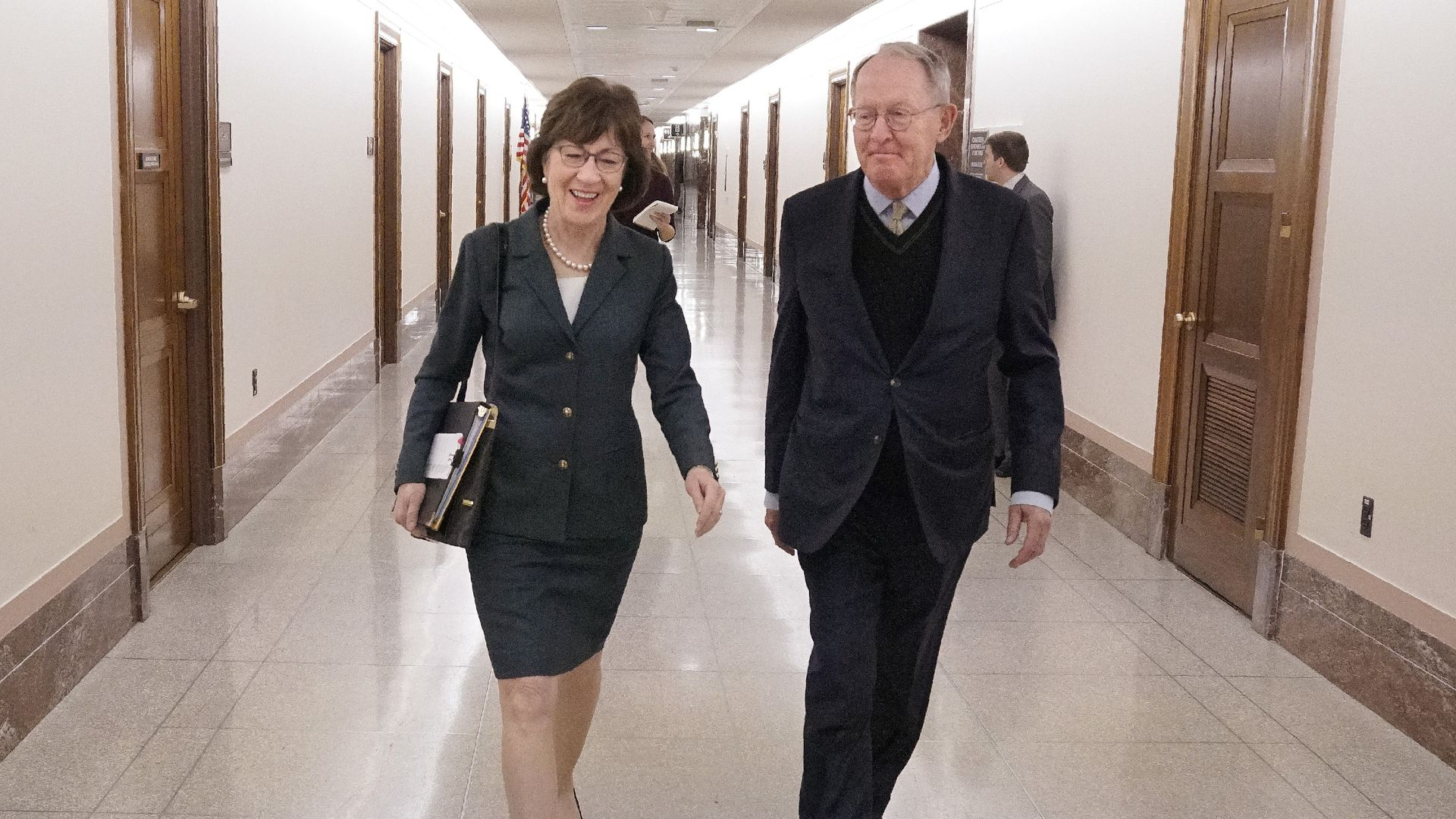 Sens. Susan Collins and Lamar Alexander