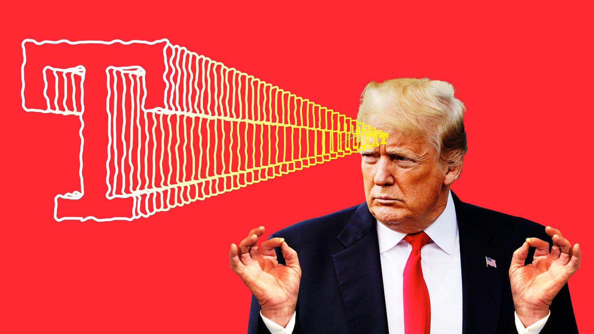 Trump's mind-control superpowers