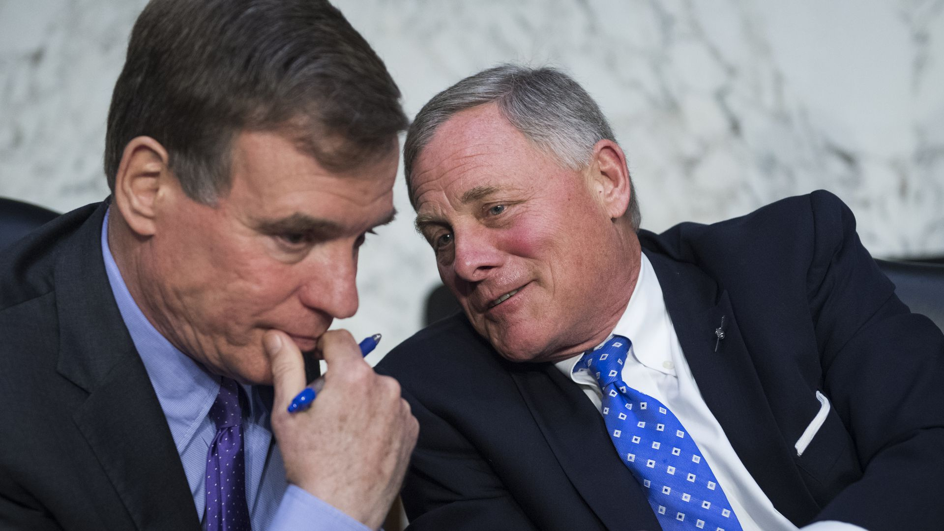 Senators Mark Warner and Richard Burr