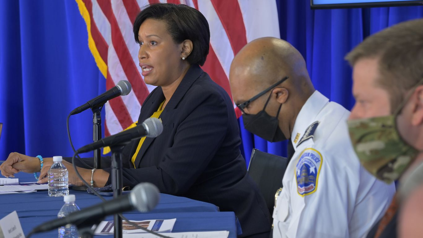 "D.C. mayor says U.S. needs to take ""domestic white extremism"" seriously after Capitol siege"