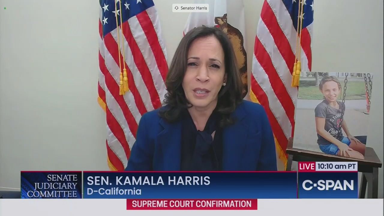 Kamala Harris Calls Amy Coney Barrett Confirmation Hearing Illegimate And Reckless Axios