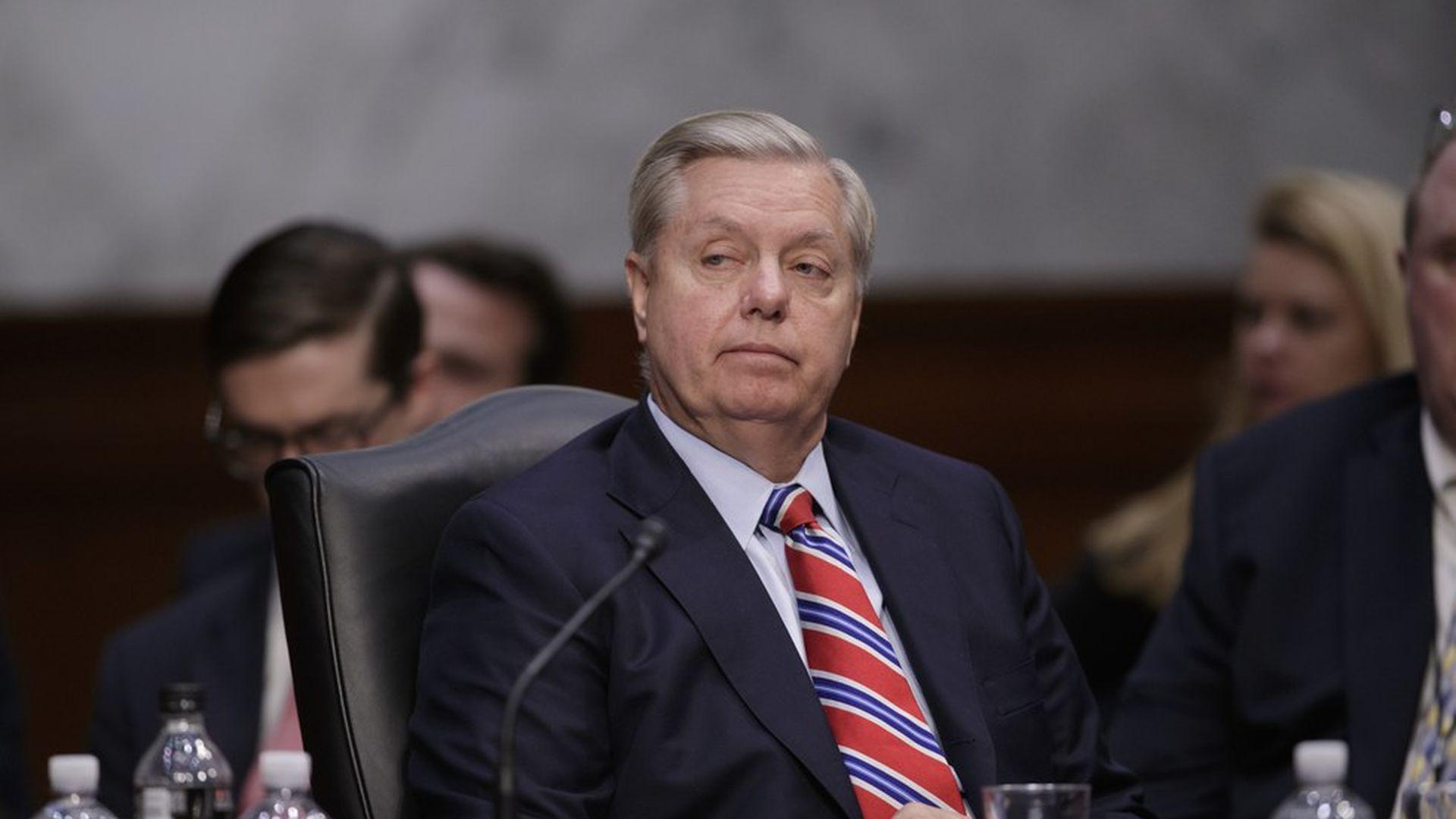 Graham: Trump told me he's willing to preempt North Korea