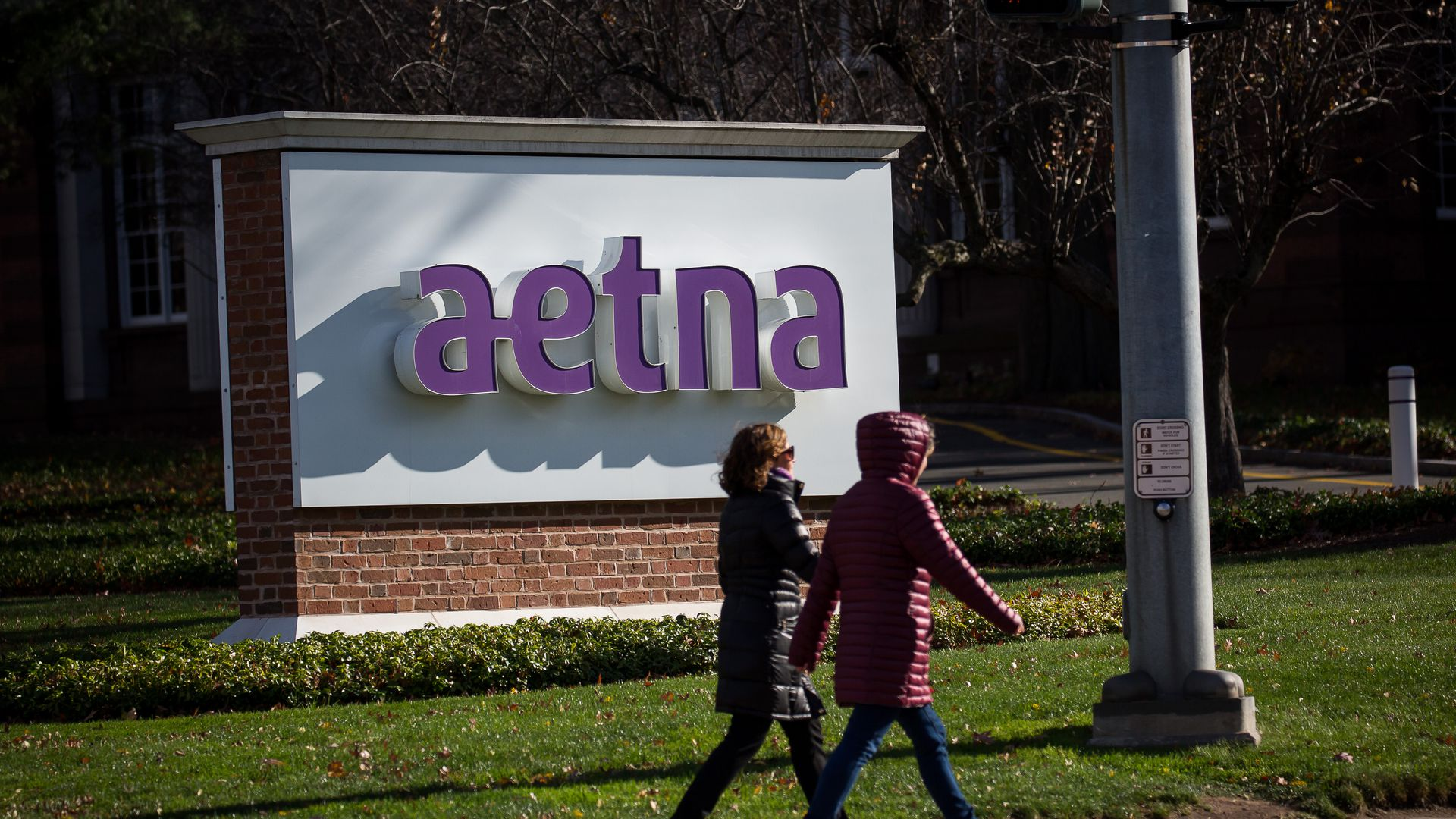 Aetna headquarters.