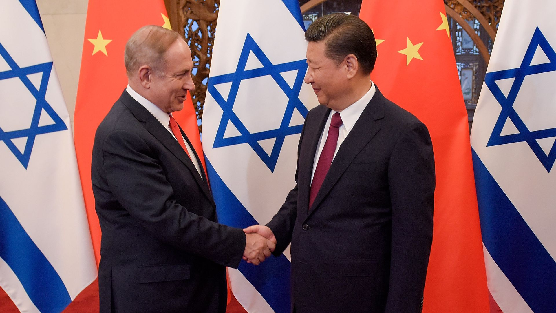 Netanyahu and Xi