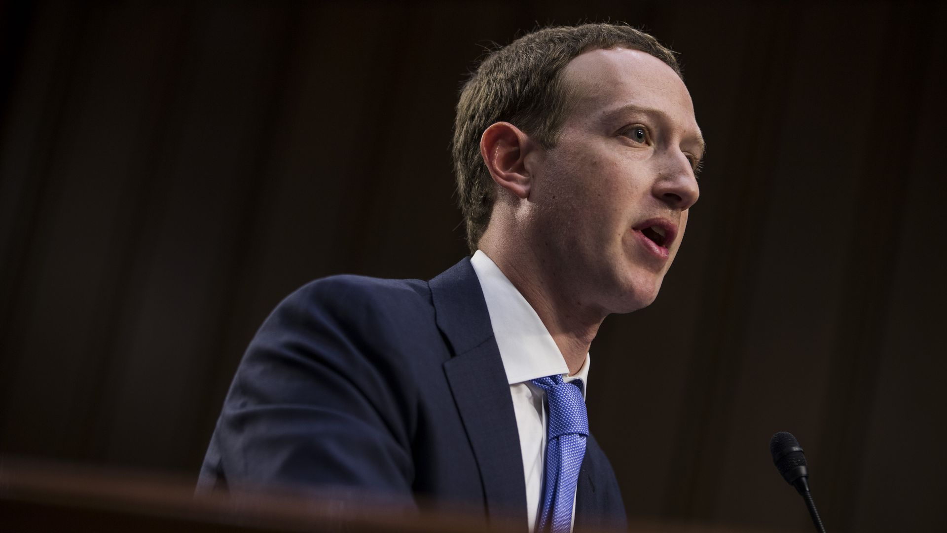 Mark Zuckerberg testifies