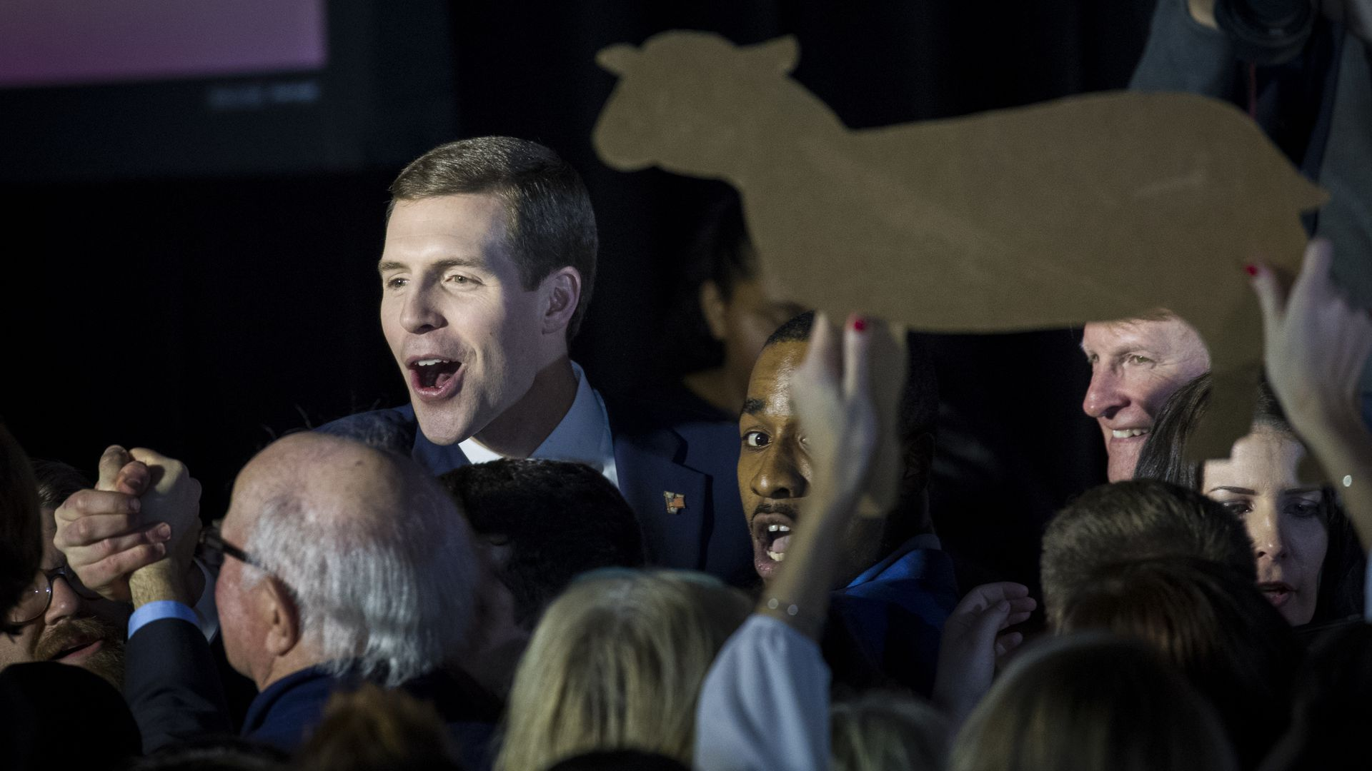 Conor Lamb election night party