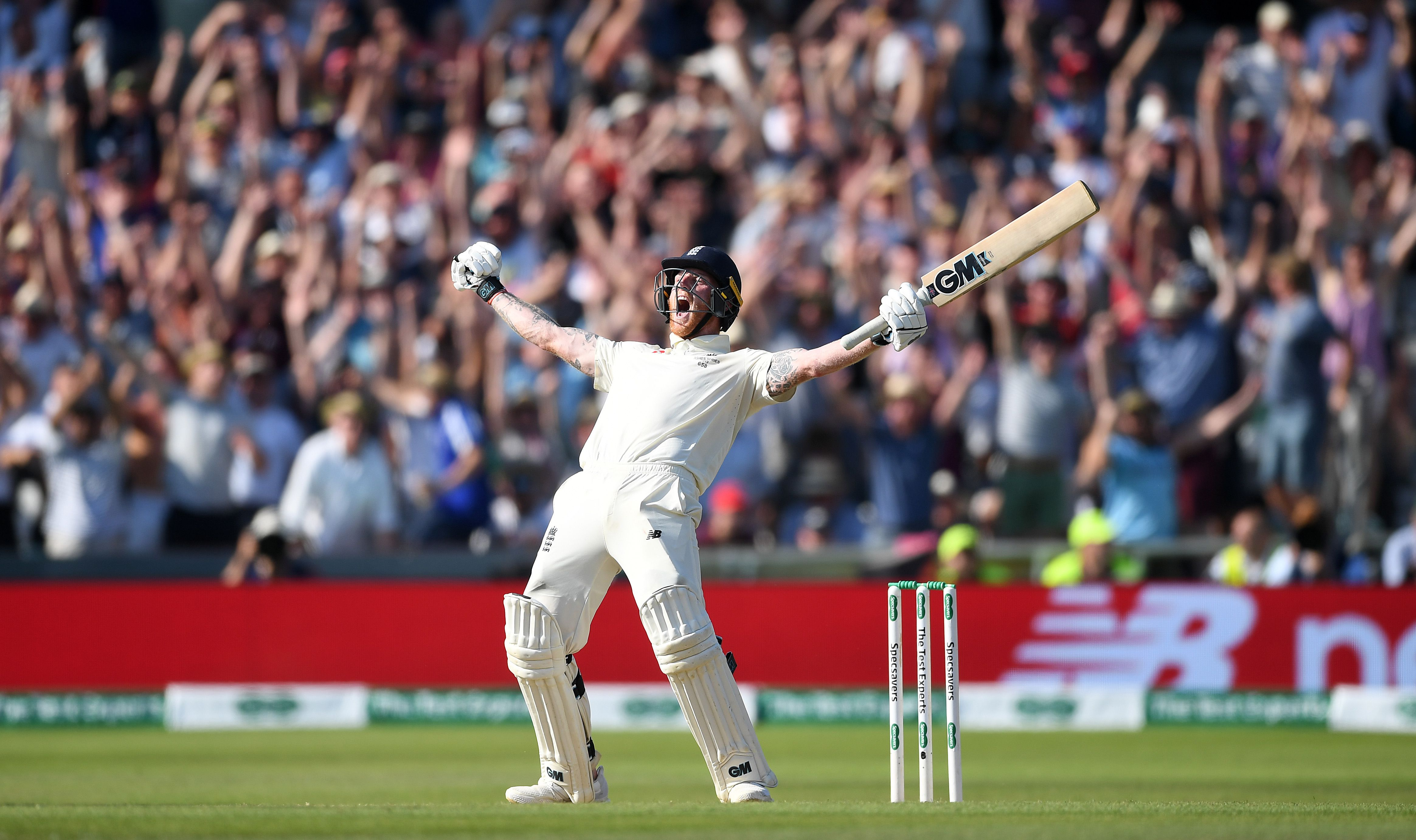 Cricket celebration