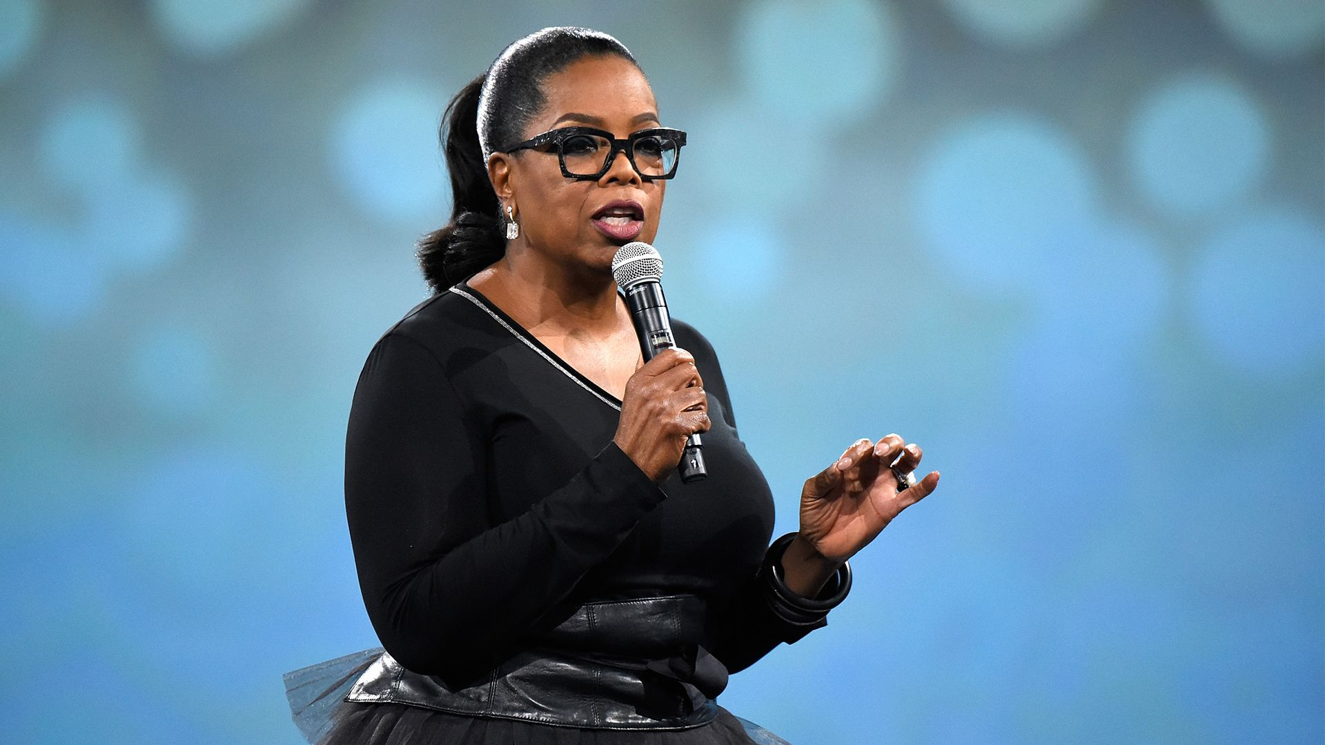Oprah Winfrey. Photo: Kevin Mazur/Getty Images for Robin Hood