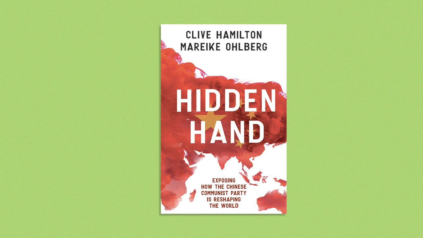 Cover image of the book Hidden Hand by Clive Hamilton and Mareike Ohlberg