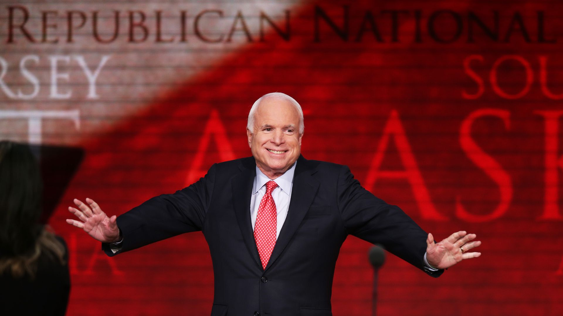 Sen. John McCain at the 2012 Republican National Convention.