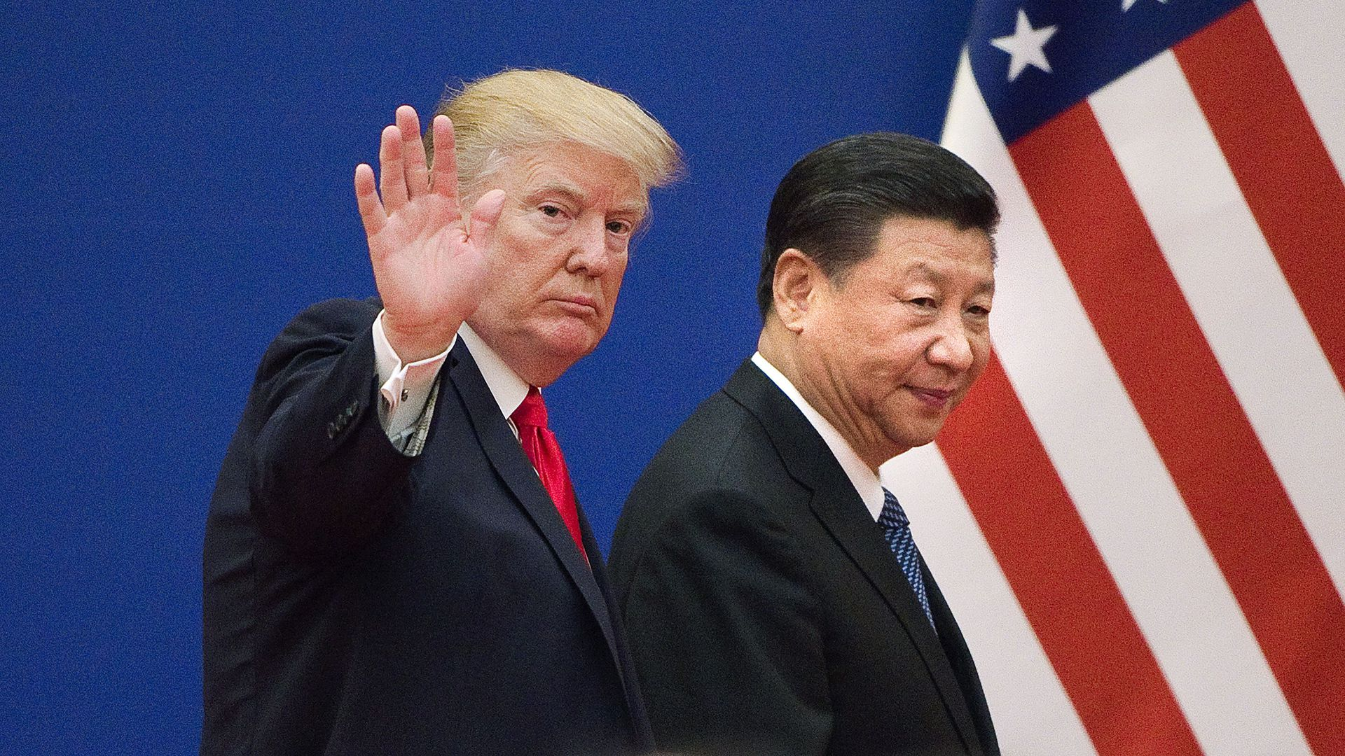 President Trump with Chinese President Xi Jinping