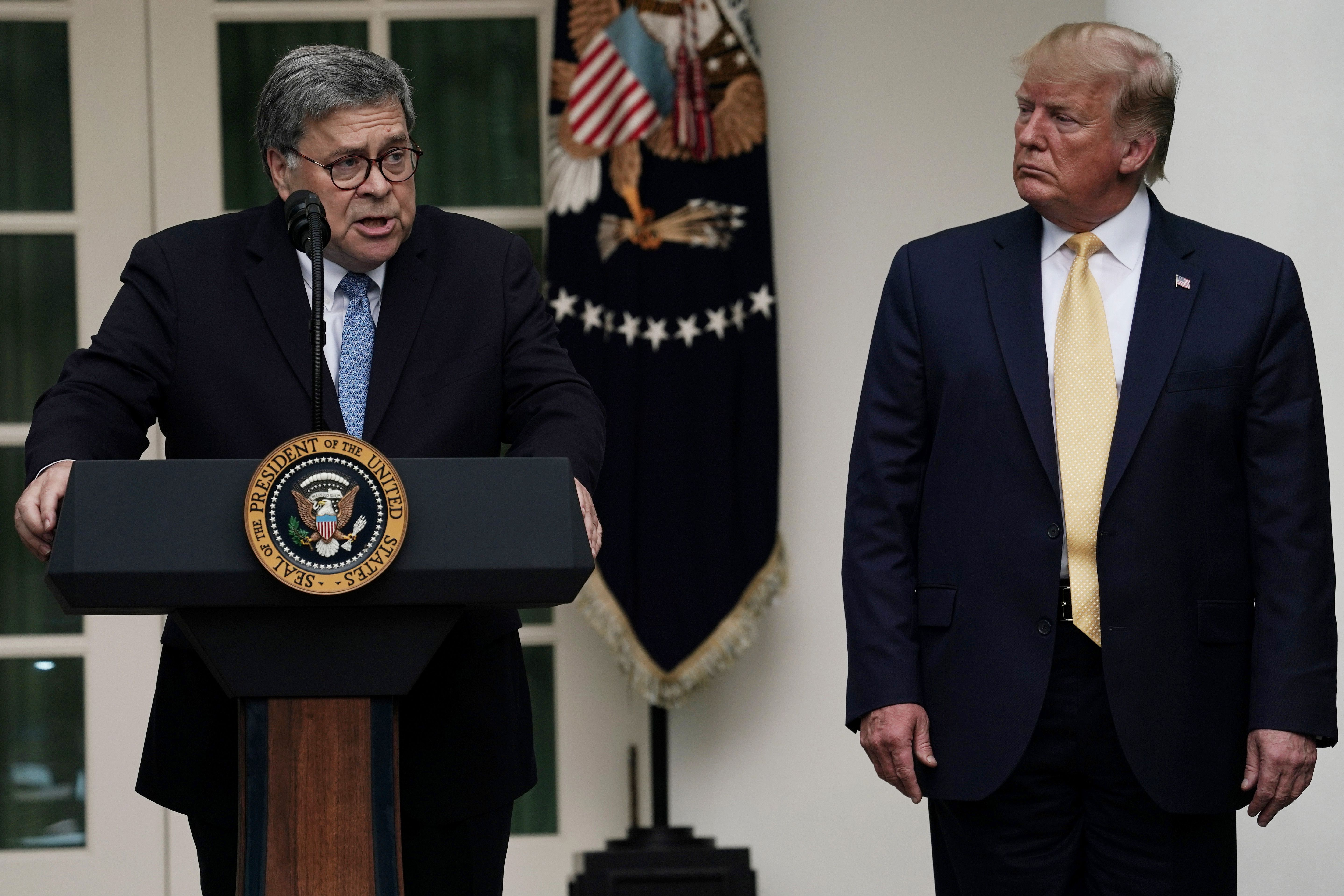 WashPost: Barr opposes key Russia probe finding by inspector general - Axios