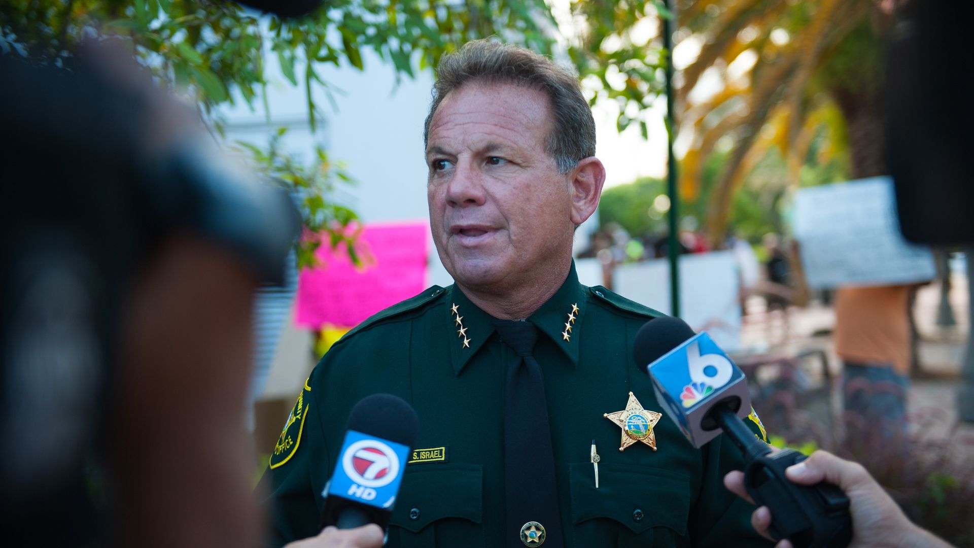 Broward County Sheriff Scott Israel.