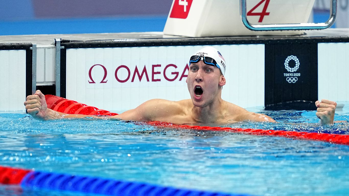 Swimmer Chase Kalisz first American to win Tokyo Olympics gold medal