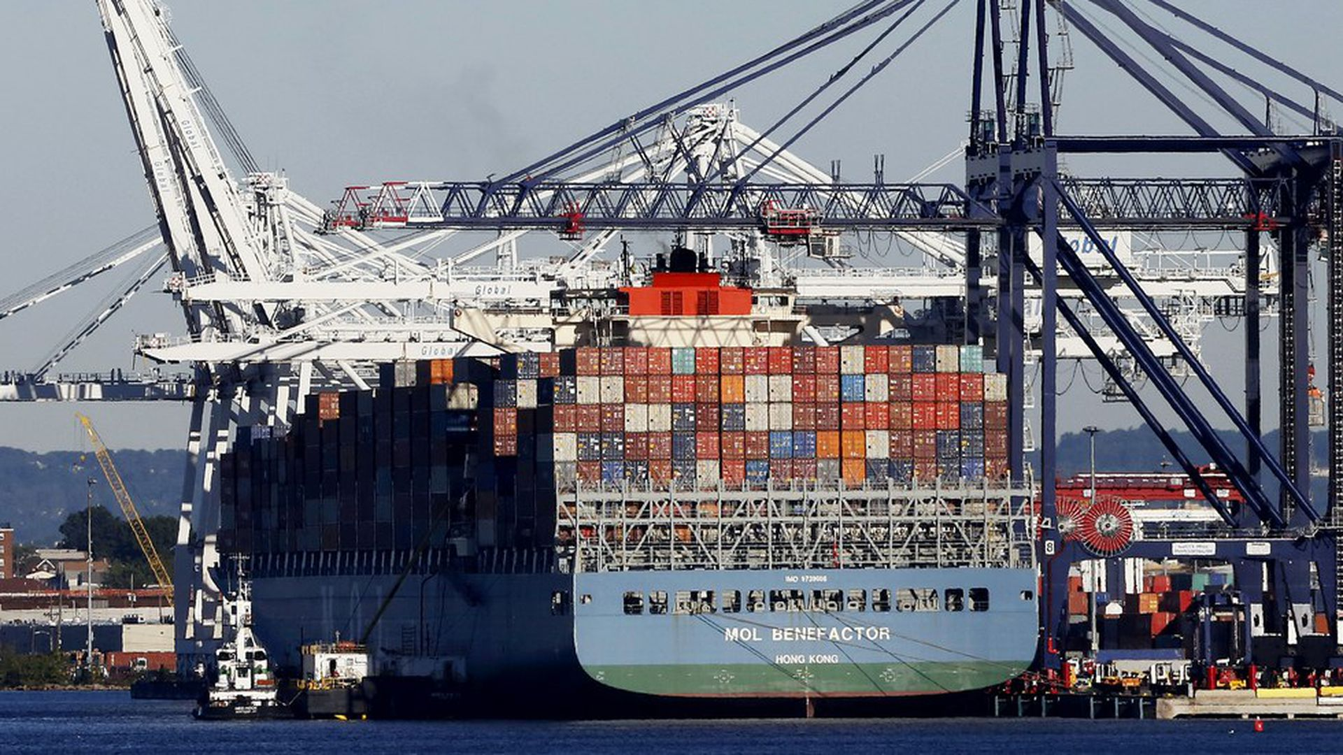Self-driving container ships could upend shipping industry