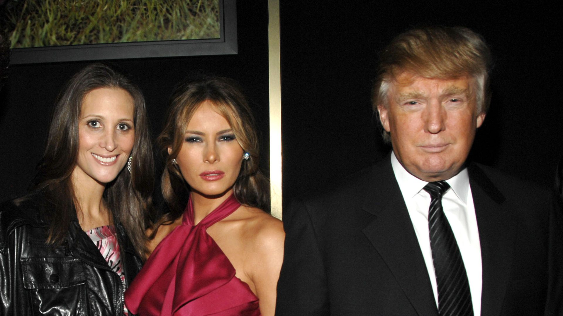 Stephanie Winston Wolkoff, Melania Trump and Donald Trump at a 2008 event.