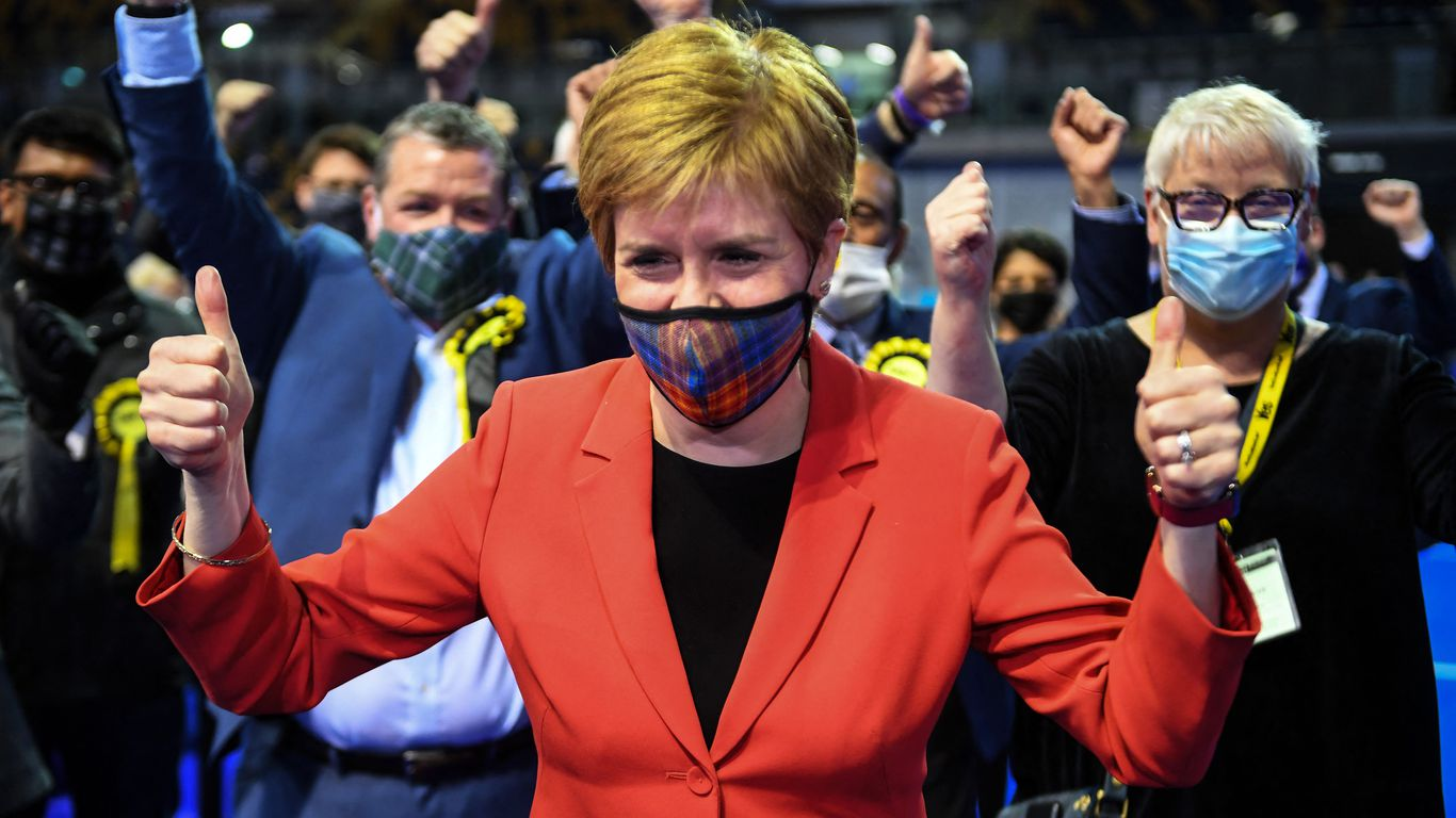 """""""Will of the country"""": Scottish first minister vows independence referendum after election win thumbnail"""