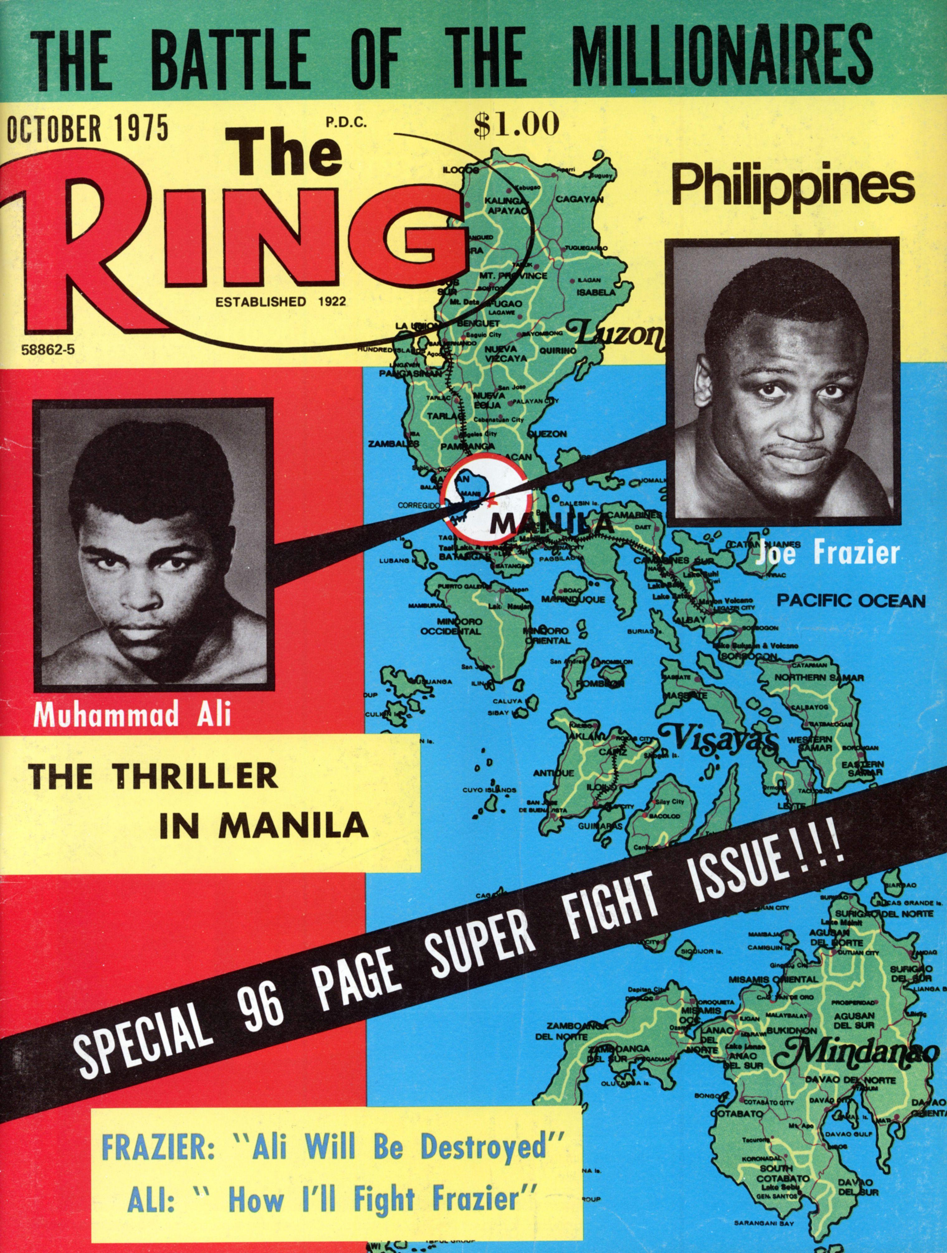 Thrilla in Manilla magazine cover