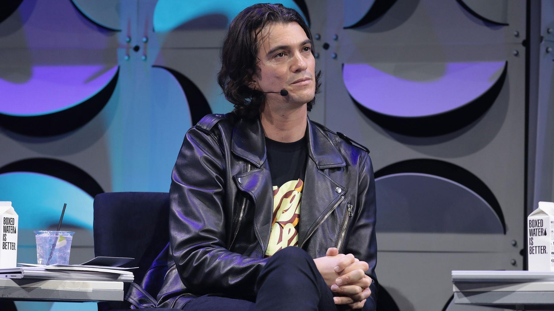 WeWork CEO Adam Neumann.