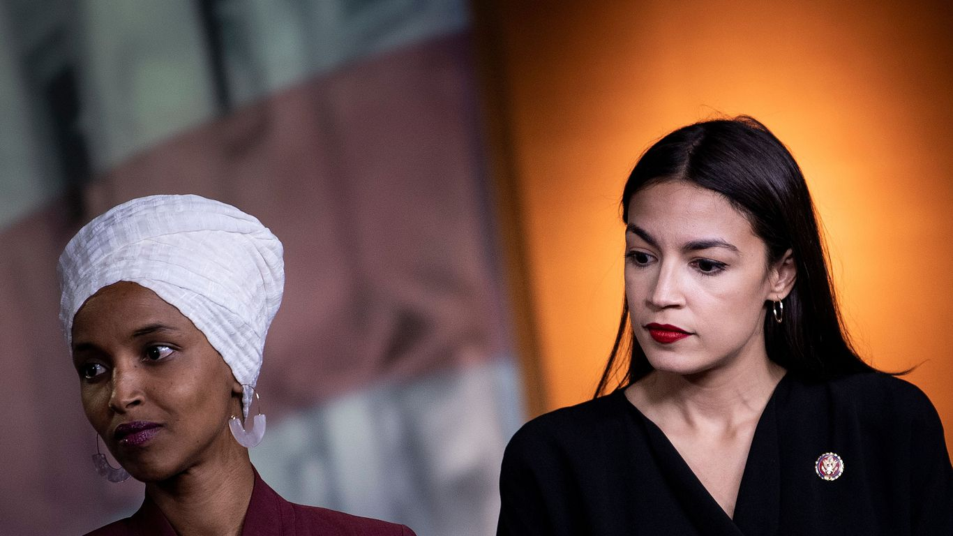AOC and Ilhan Omar want to block Biden's former chief of staff