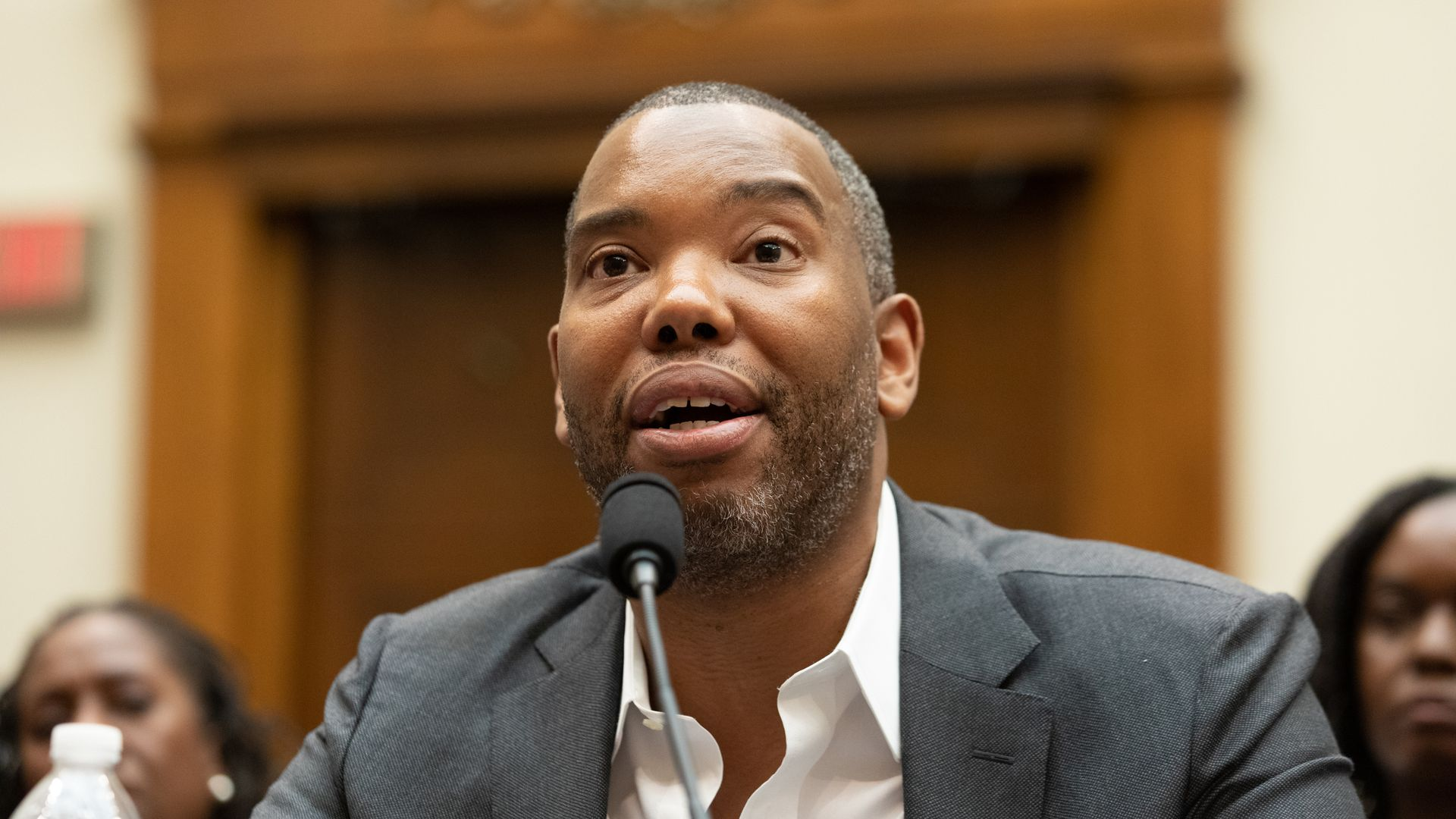 Writer and journalist Ta-Nehisi Coates, testifies about reparations