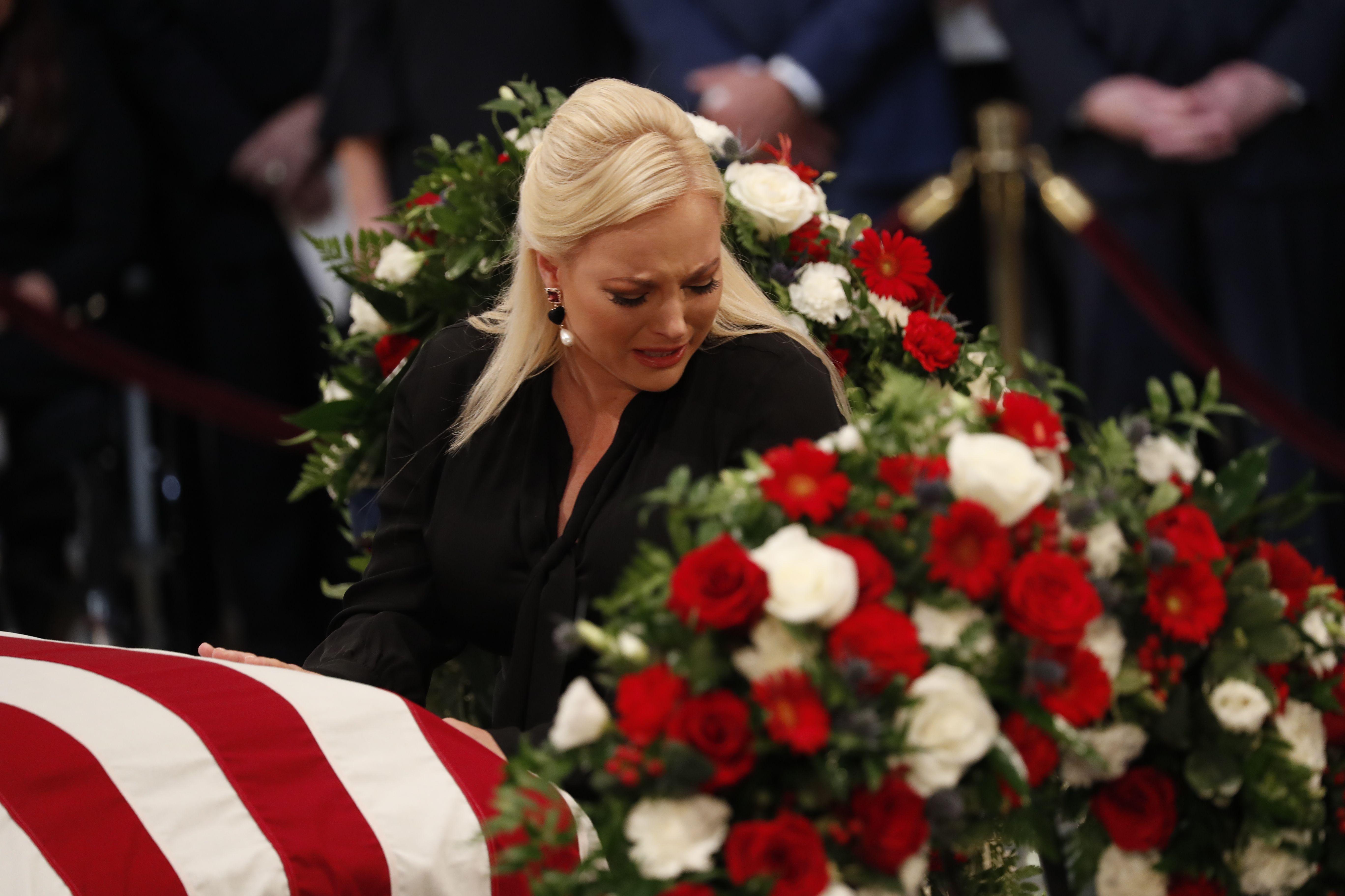 Meghan McCain rebukes Trumpism in memorial tribute to her dad - Axios